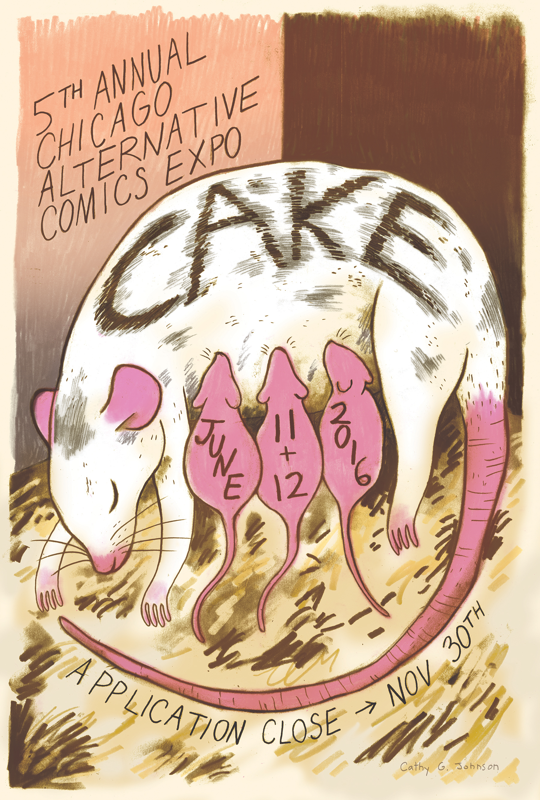 Poster / Chicago Alternative Comics Expo 2016