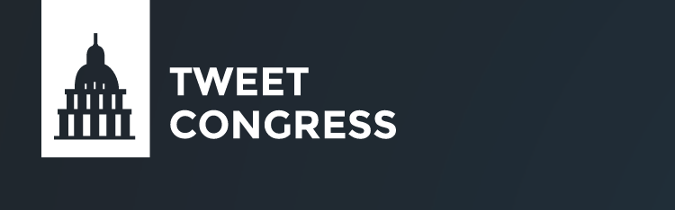 If you use Twitter,  Tweet Congress .