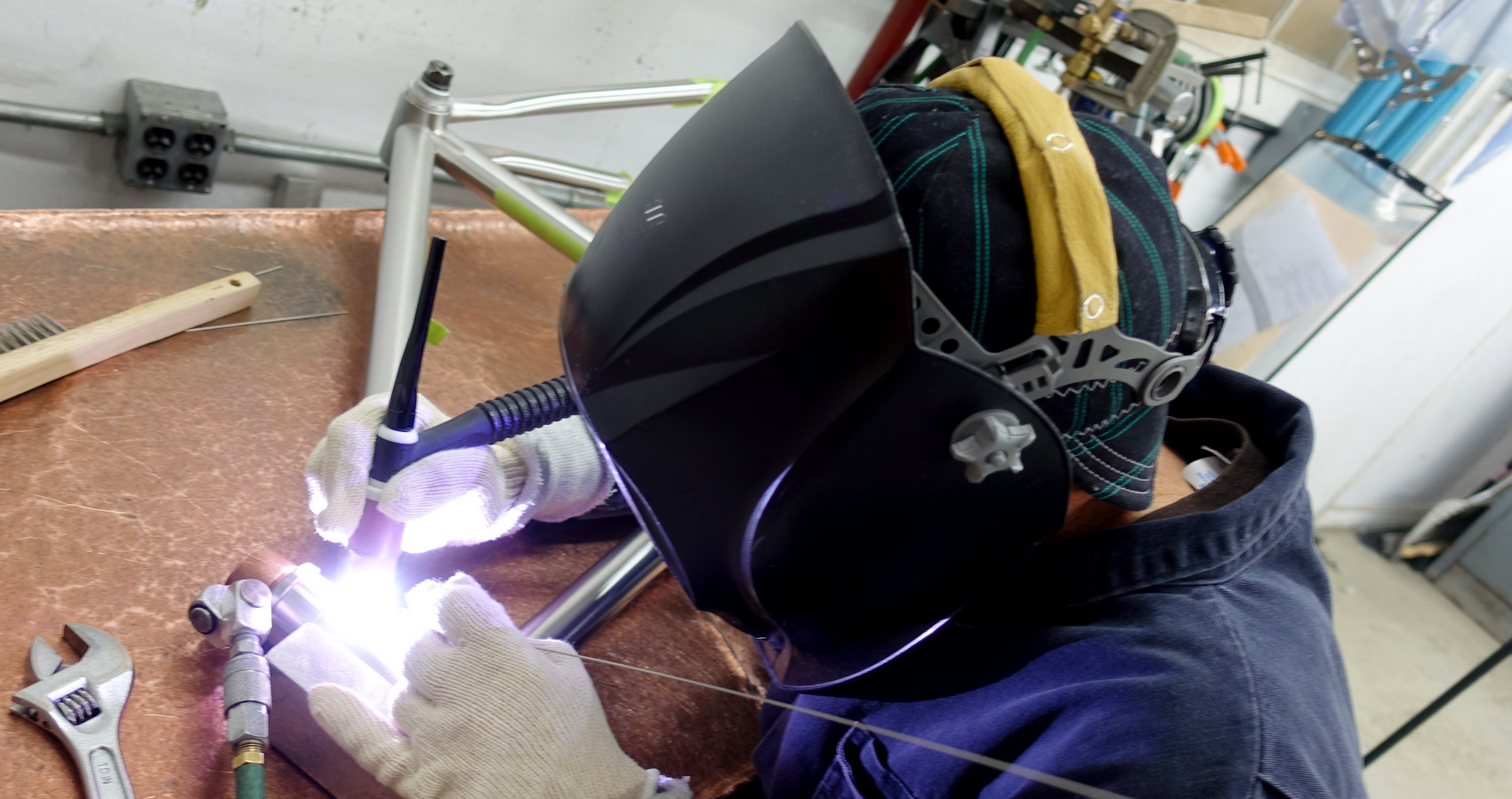 Honey Frame Welding 180328