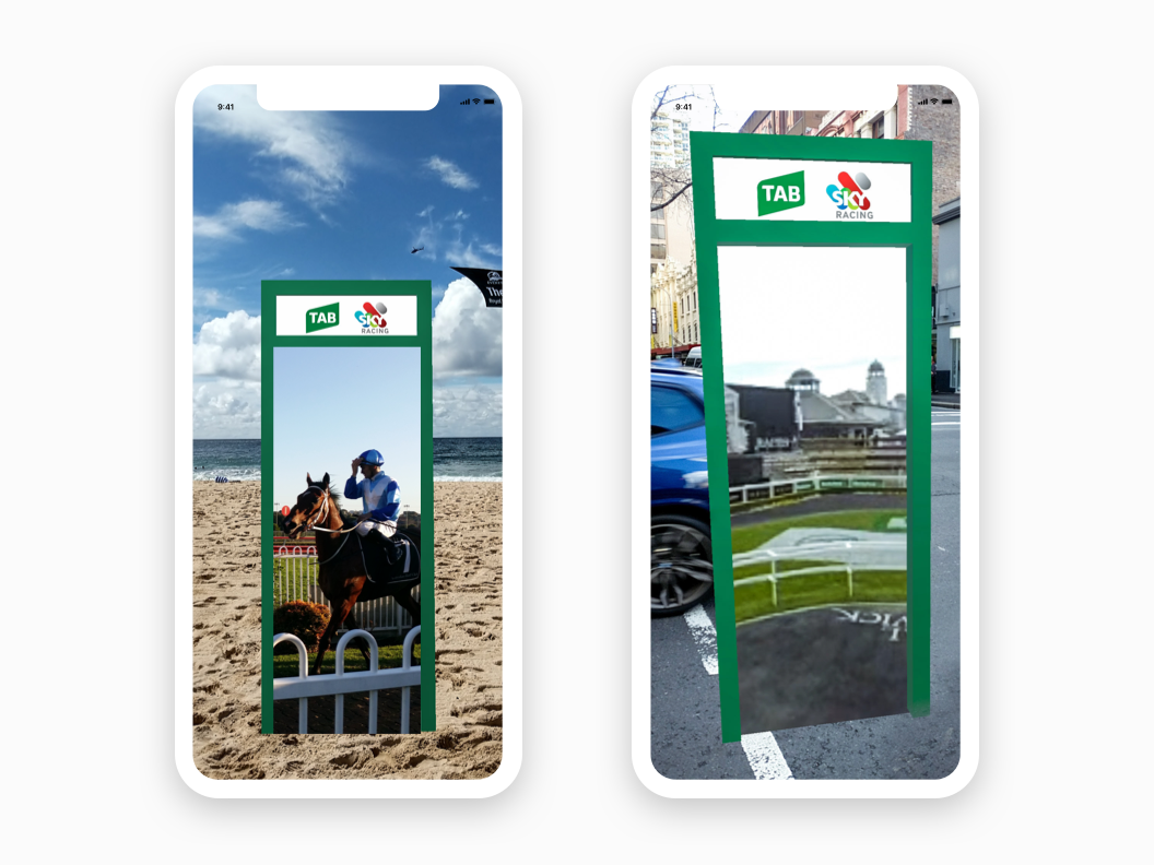 Augmented Reality Portal - UX   UI and AR Design