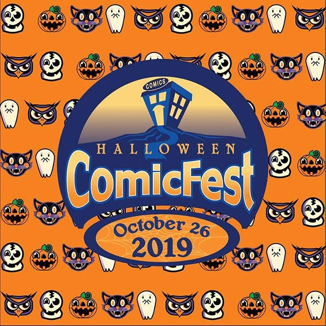 Time to get spoopy! 👻  Mark your calendars for this year's Halloween Comic Fest Saturday, October 26th. Stay tuned for our shop hours for this special event! . . . . #HCF #HalloweenComicFest #LocalBusiness #Eastborn #GetSpoopy #ShopSmall #ShopLocal #LocalComicShop