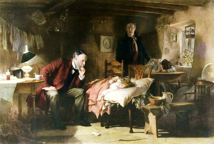Figure 1. The Doctor, by Sir Luke Fildes (1891)