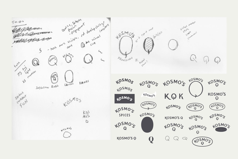 kosmosq_visual identity_sketches iterations.png