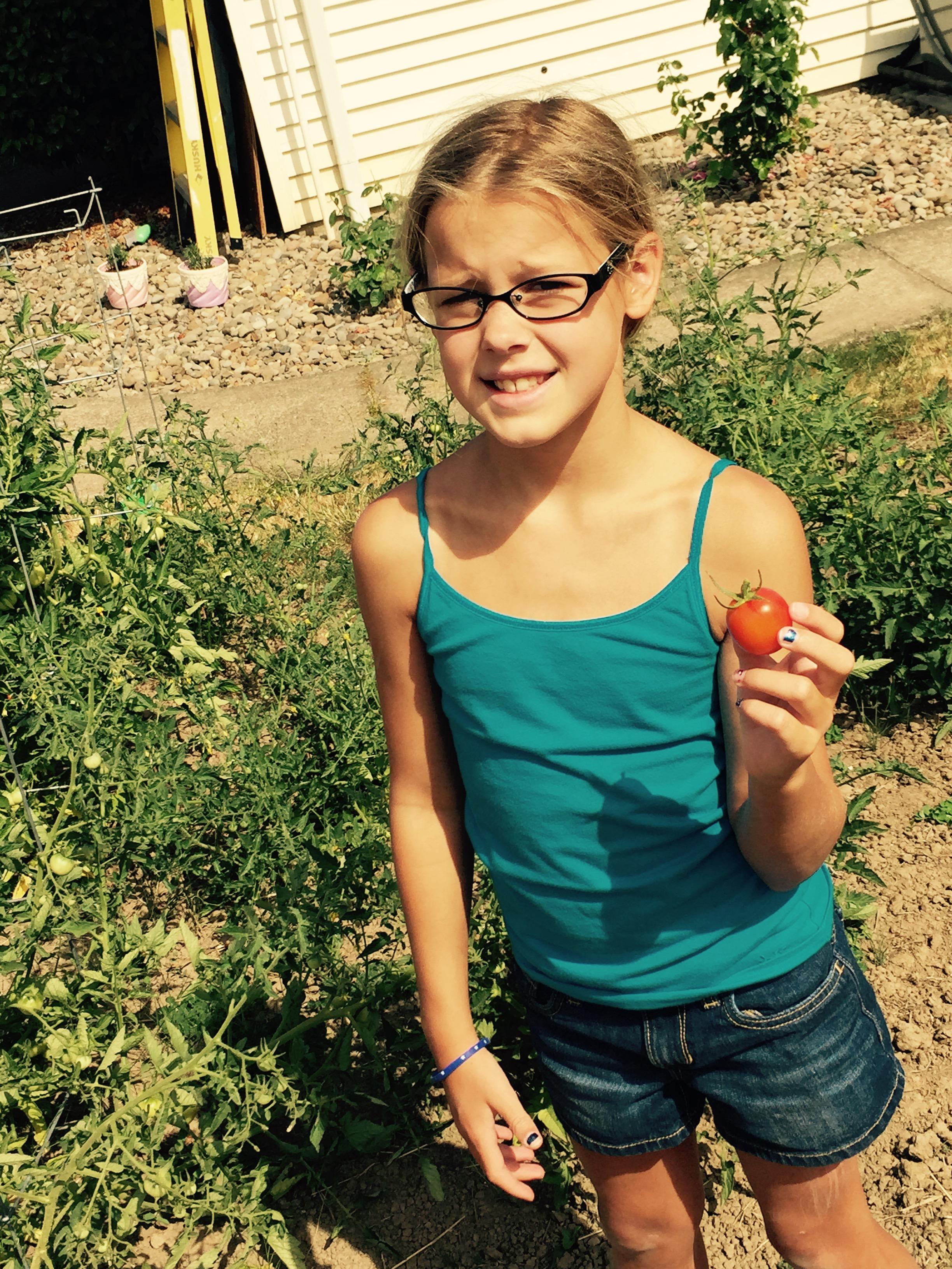 Rylee, age 9 (photo provided by C. Killian)