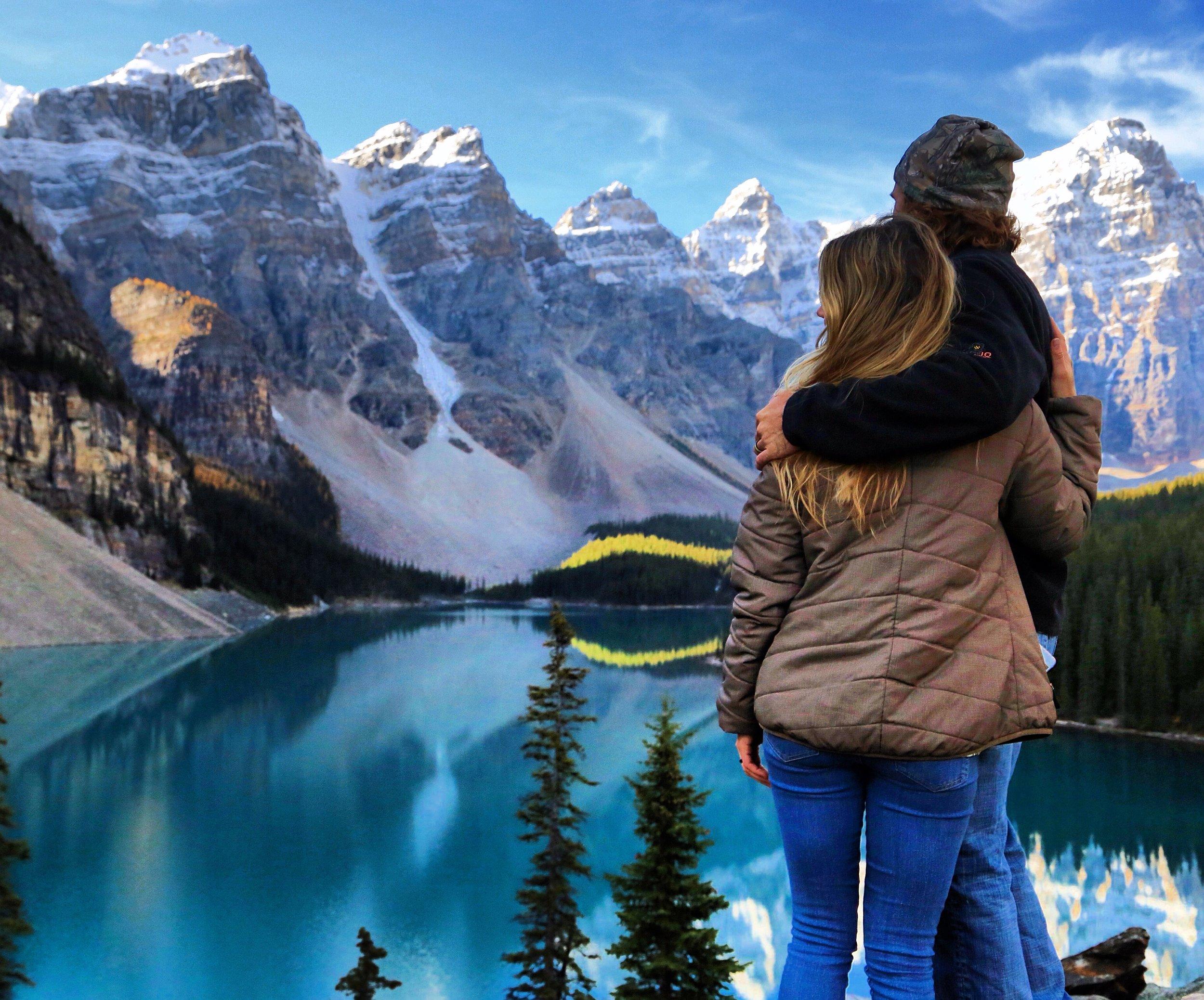 Sunny & Jordan in Canada