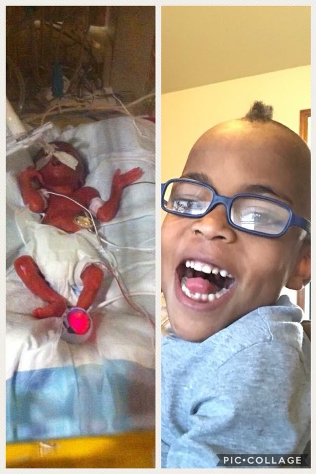 Newborn Ezra to happy, healthy boy!