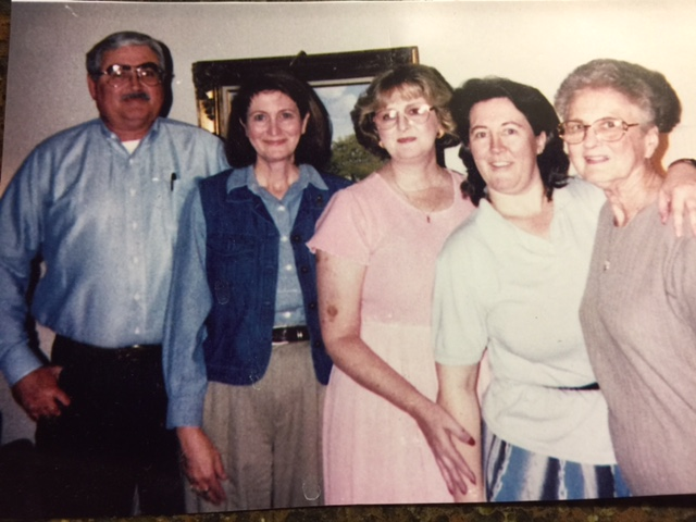 Karen and her siblings and her Momma (far right)