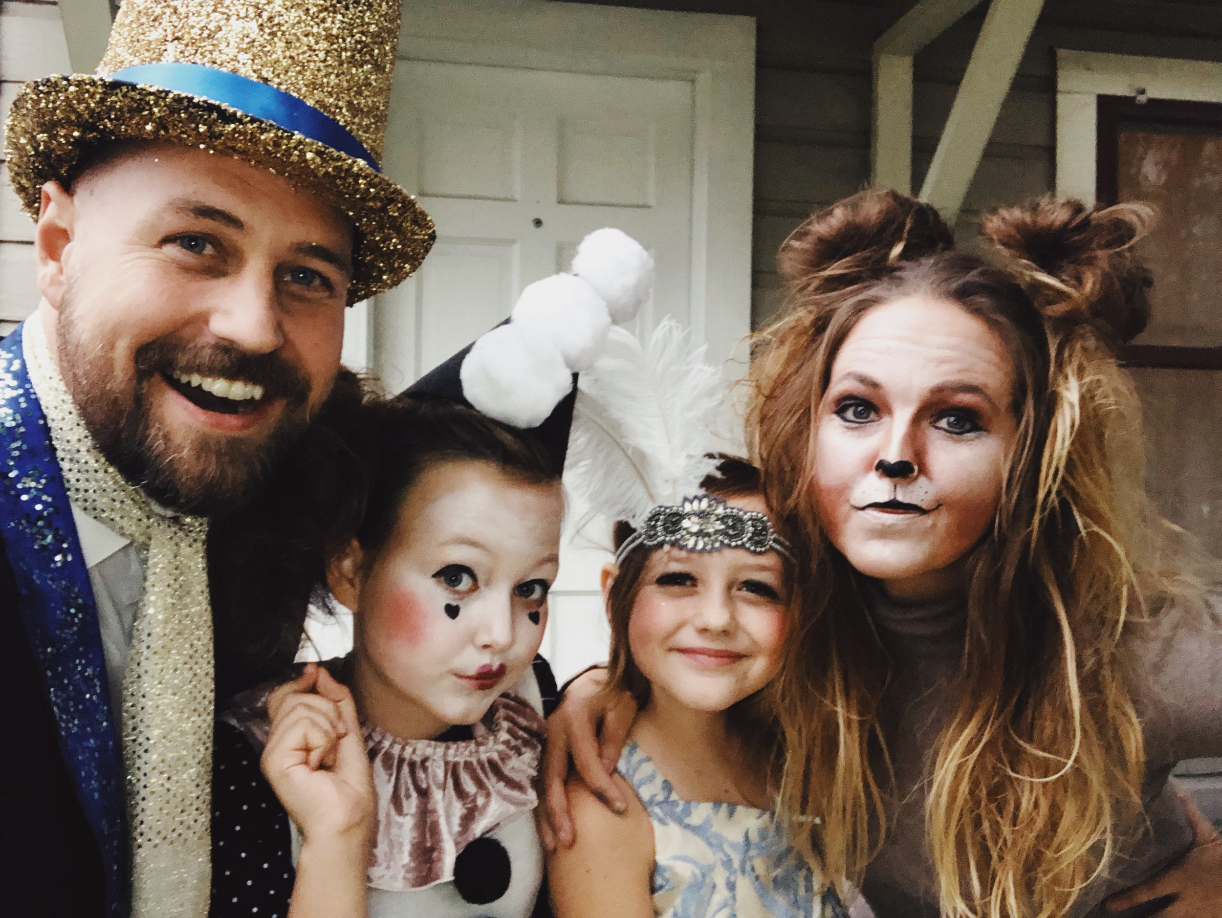 Halloween! (Jennifer kills it on halloween)
