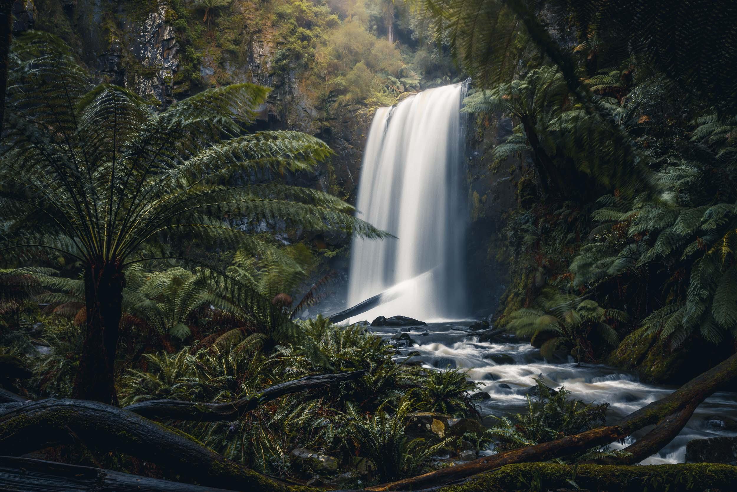 The magical Hopetoun Falls