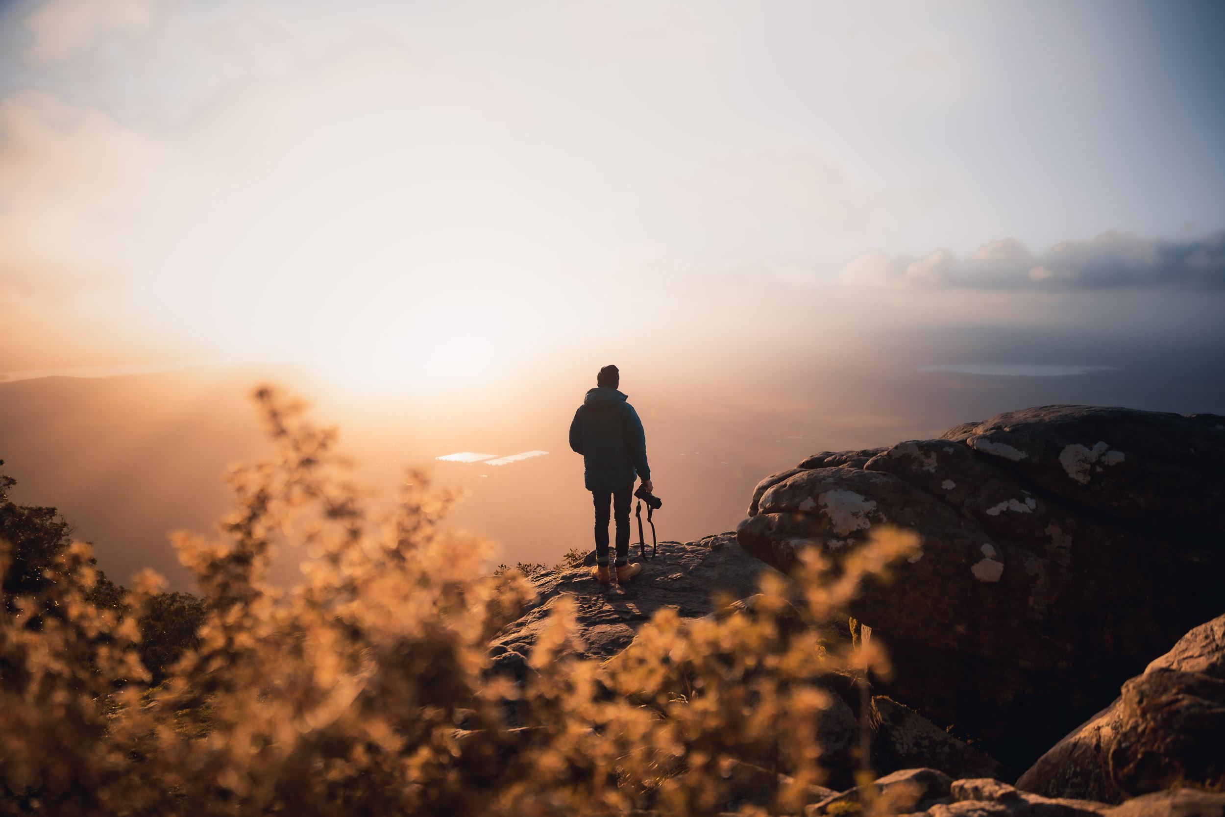 Morning light at Boroka Lookout