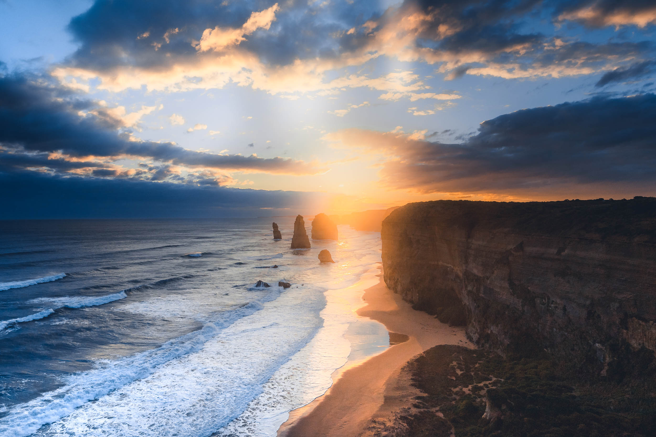 Sunset at the Twelve Apostles Lookout