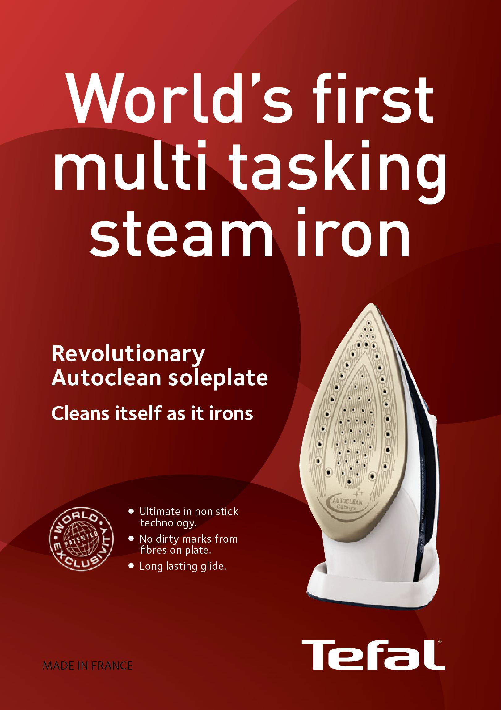 Tefal irons