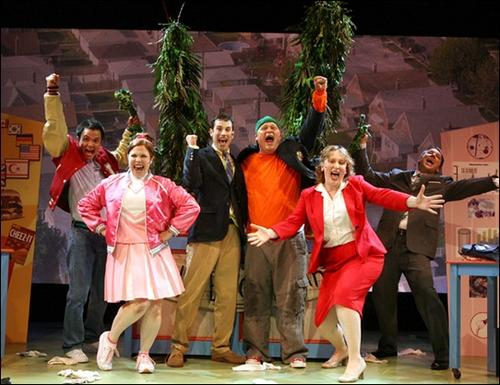 Lucille Lortel Theater Cast (Joan Marcus)