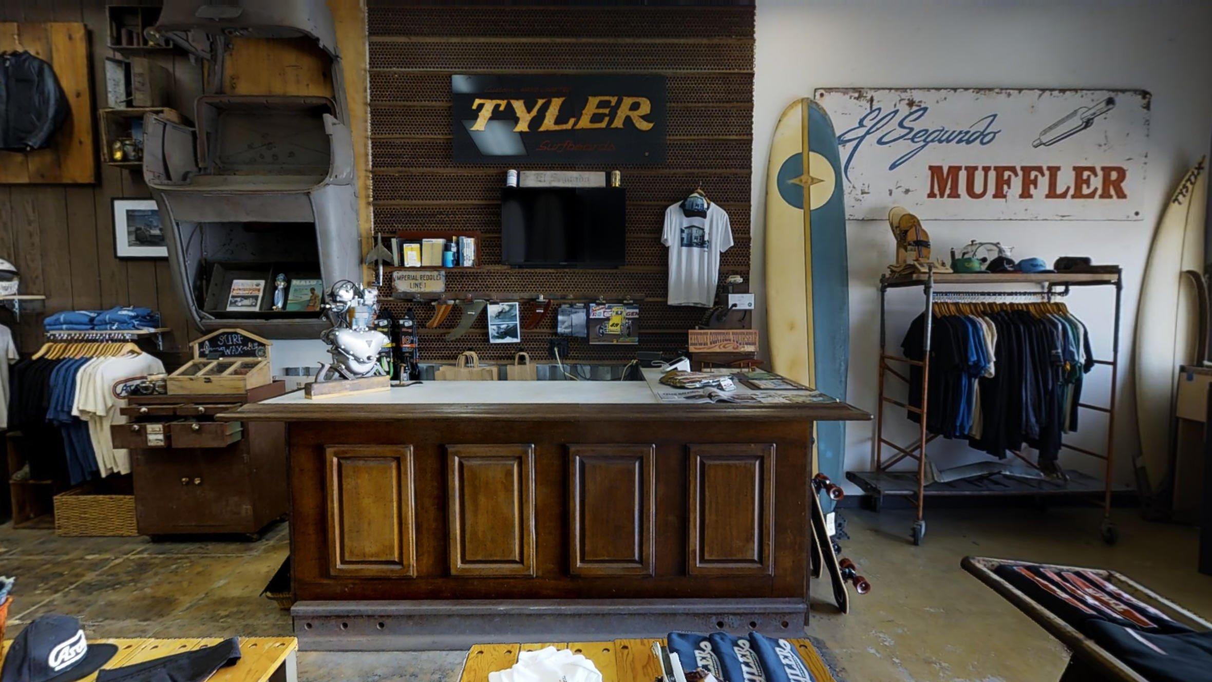 Tyler Surfboards 3D Matterport