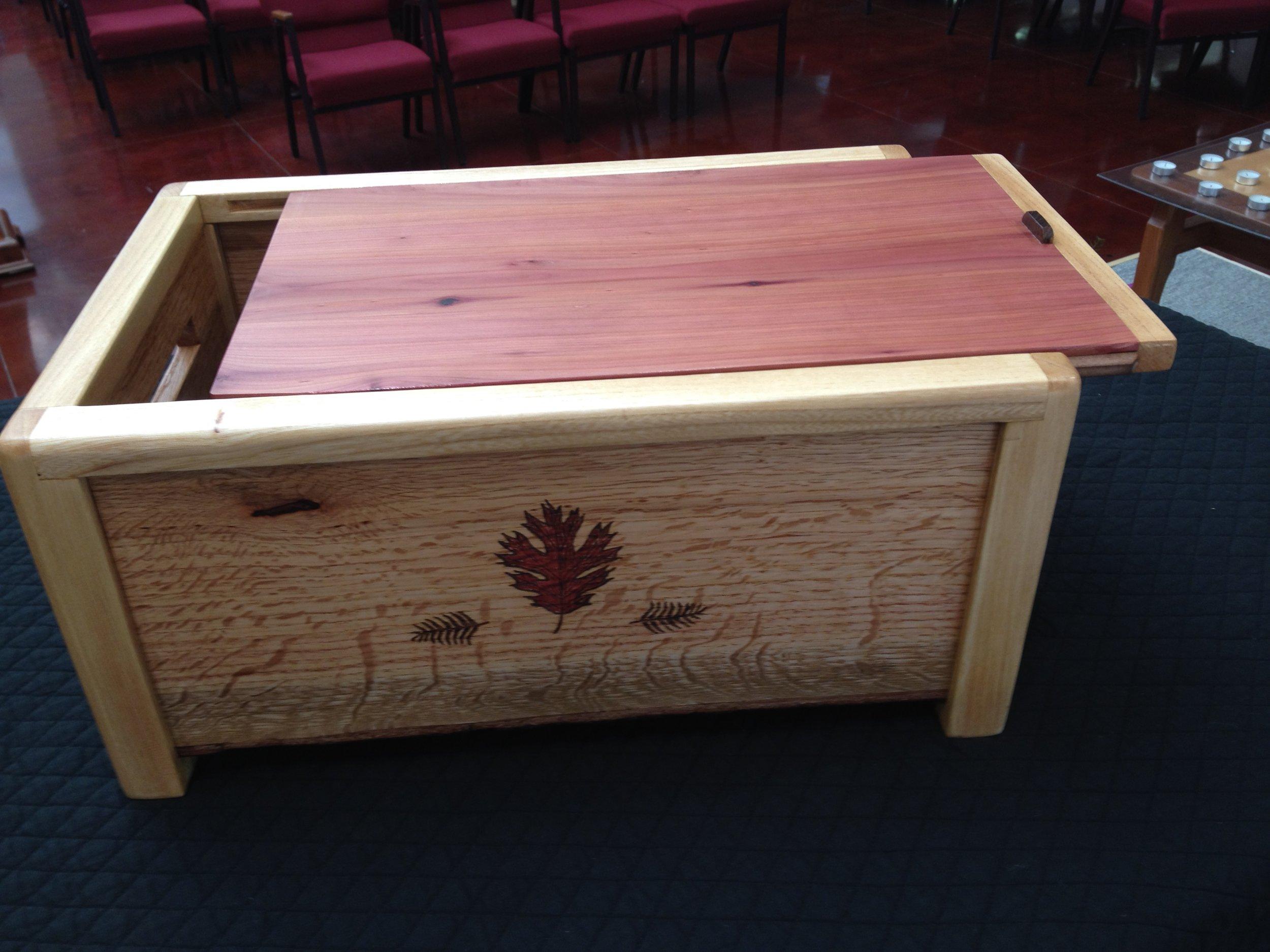 Stewardship Box (front view)
