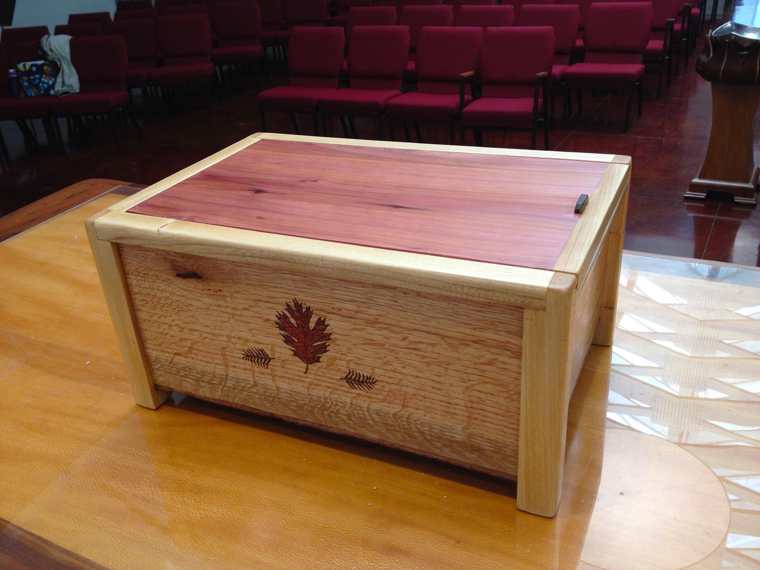 Stewardship Box (top view)