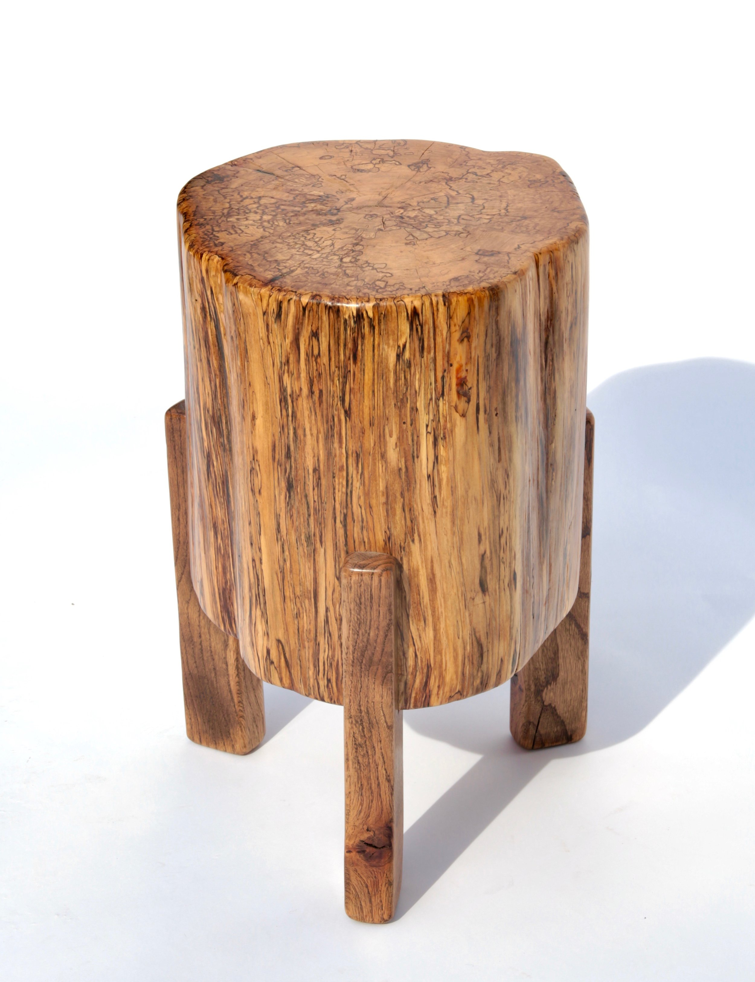 Small Stump Table (side view)