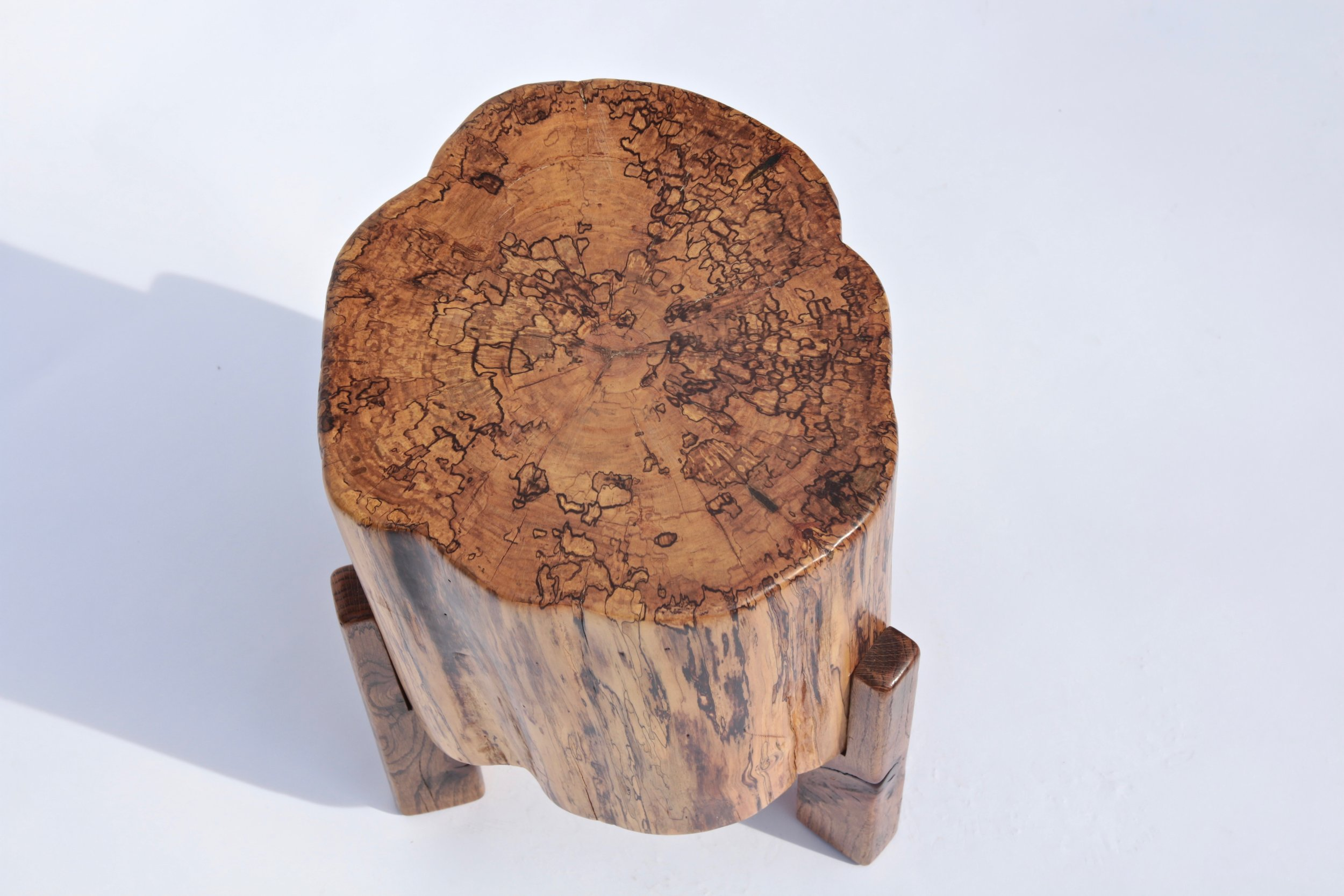 Small Stump Table (top view)