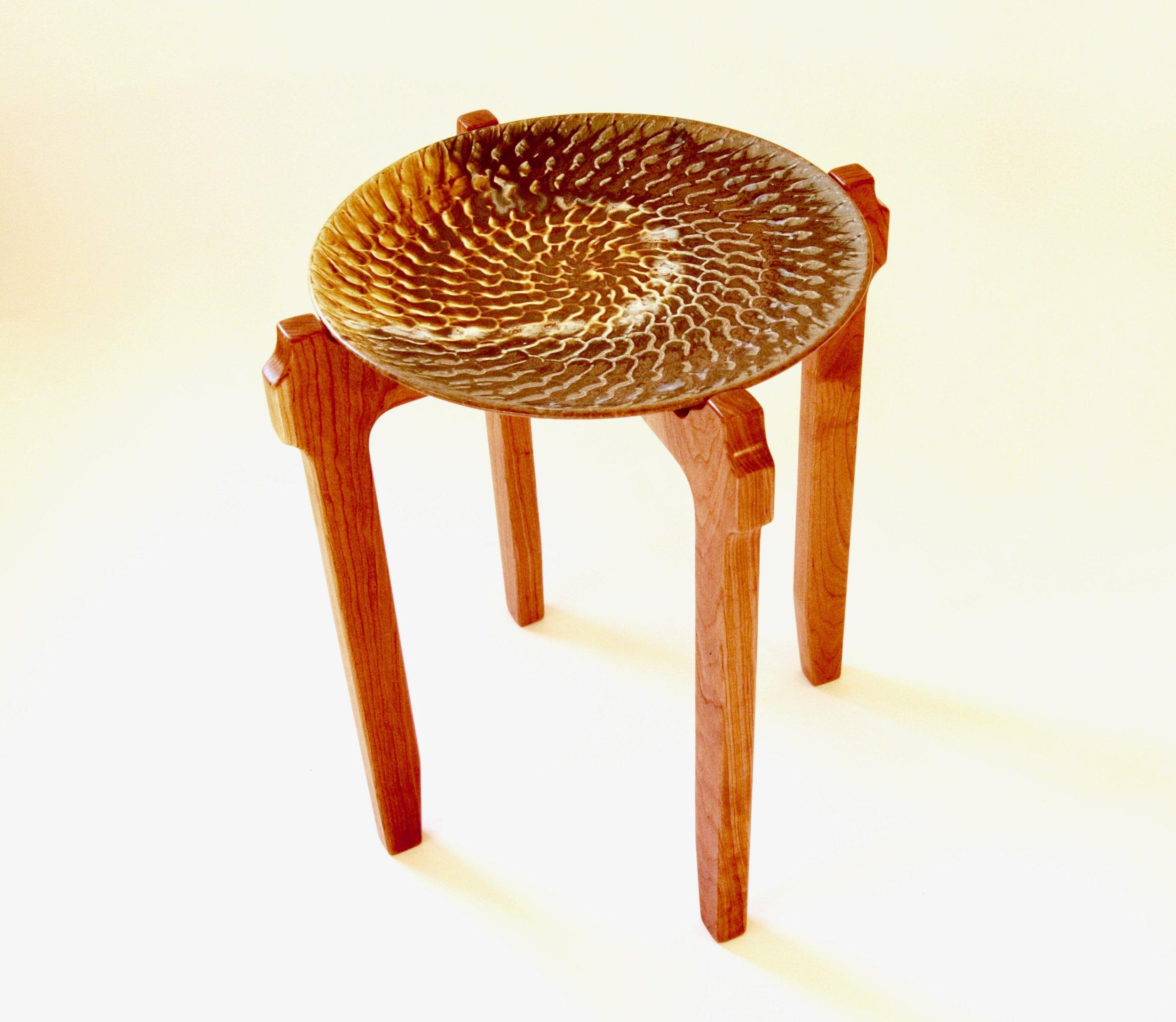 Platter End Table