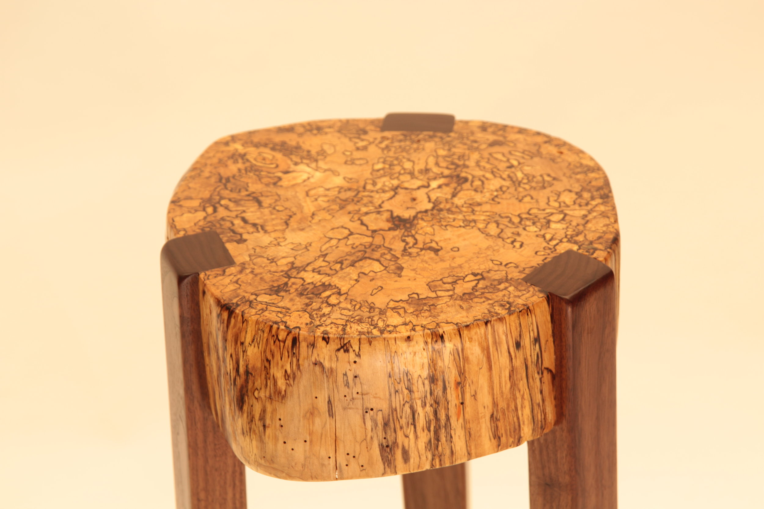 Tall Stump Table (detail view)