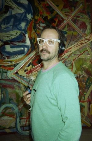 Frank Stella + Chris Johanson *by Dave Schubert