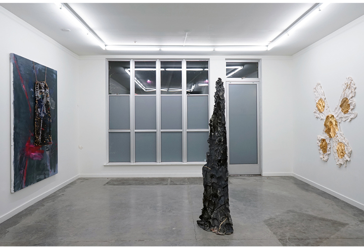 ROSY KEYSER & BRIE RUAIS  Squid Ink,  Installation