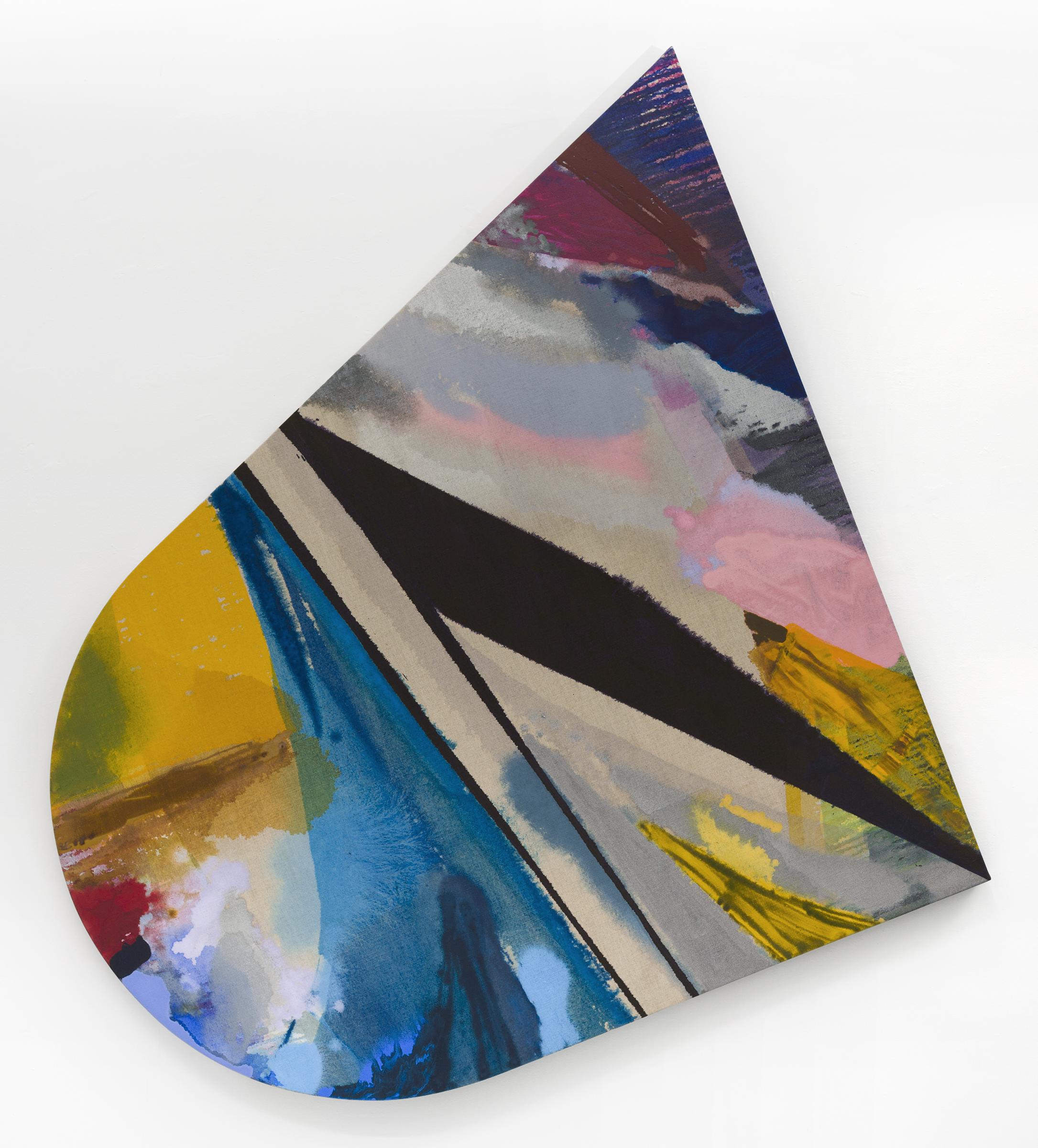 """PAMELA JORDEN   Lee , oil on linen, 75"""" x 67"""", 2017"""
