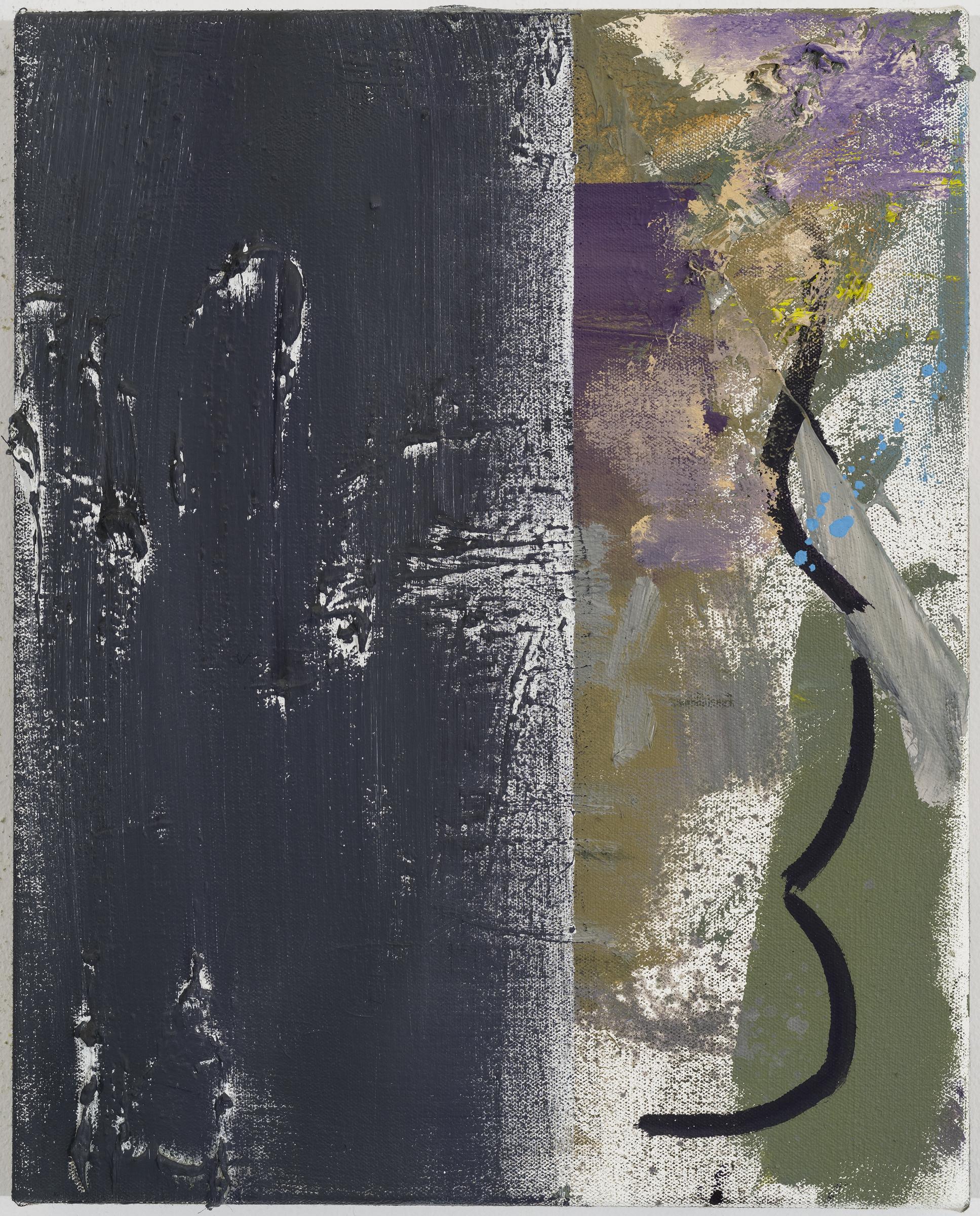 "JEAN-FRANÇOIS LAUDA   f.9 , 2015, oil on canvas, 15"" x 12"""