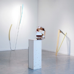 THROWN A CURVE  KIRK STOLLER FEBRUARY 28 - MARCH 29, 2014