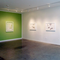 MY HEALING GARDEN IS GREEN  SUSAN O'MALLEY MAY 11 - JUNE 9, 2012