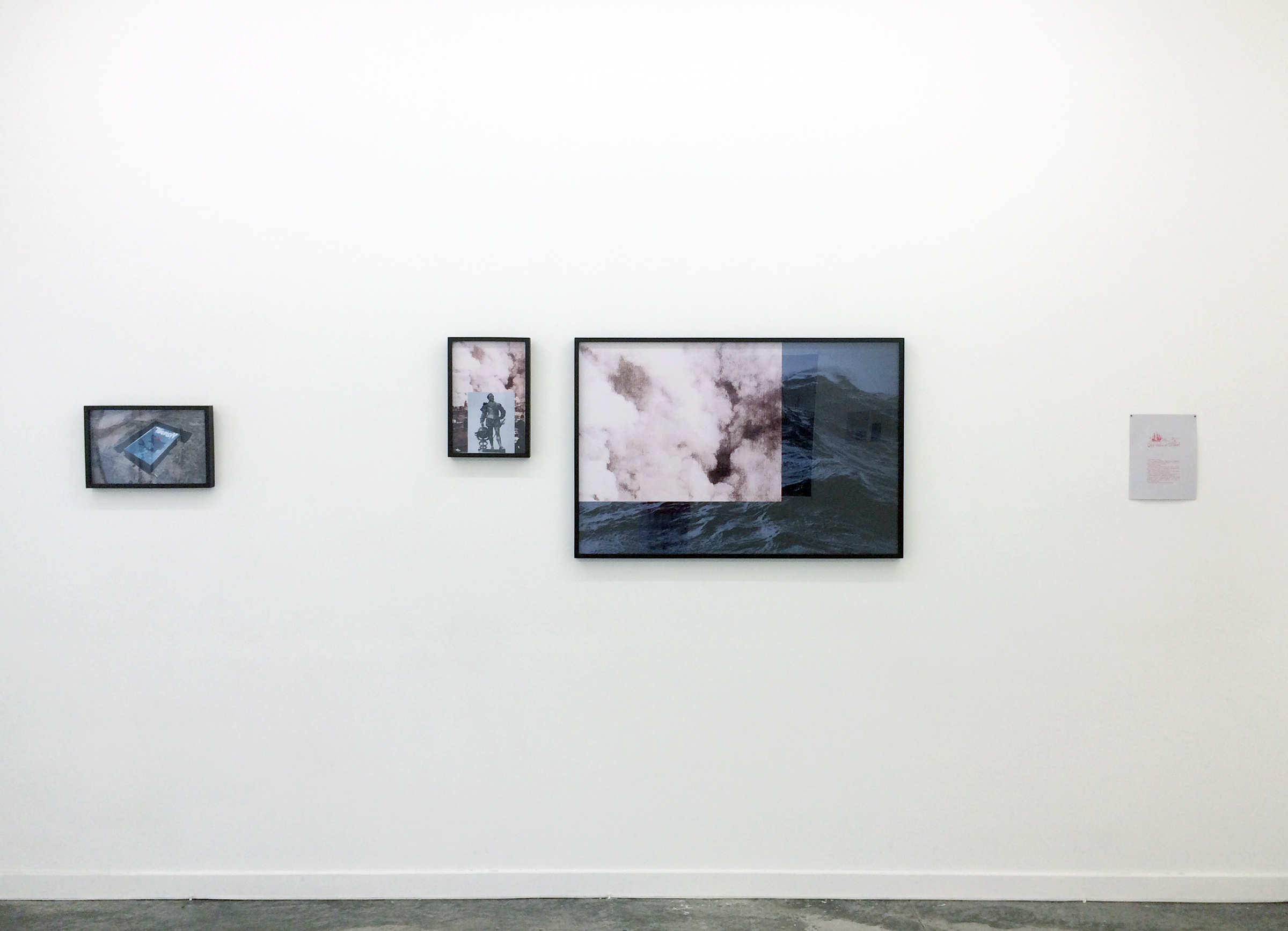 PABLO GUARDIOLA,  MAINTENANCE YARD  Installation