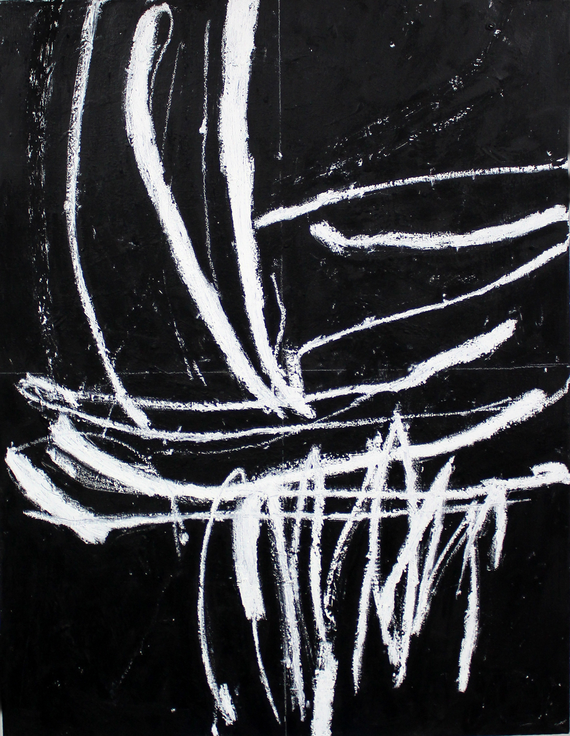 "JOSEPH HART   Untitled , oil on canvas, 50"" x 38"", 2013"