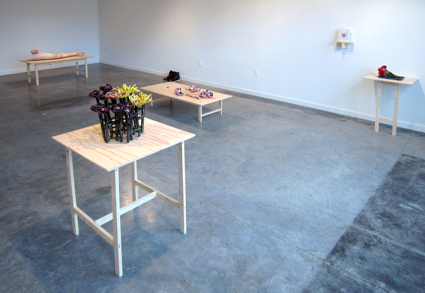ERIK SCOLLON   A Moment Lasts Forever Until It's Gone , installation