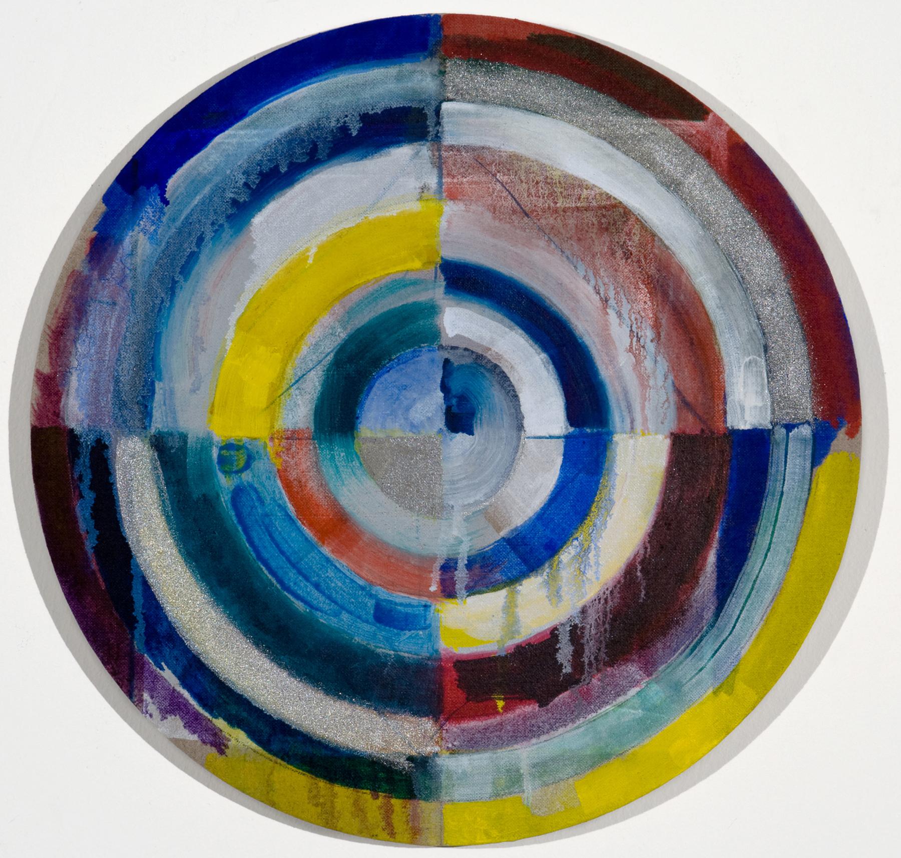 "PAMELA JORDEN  [BACK ROOM] Untitled, oil on linen, 14.875"", 2011"