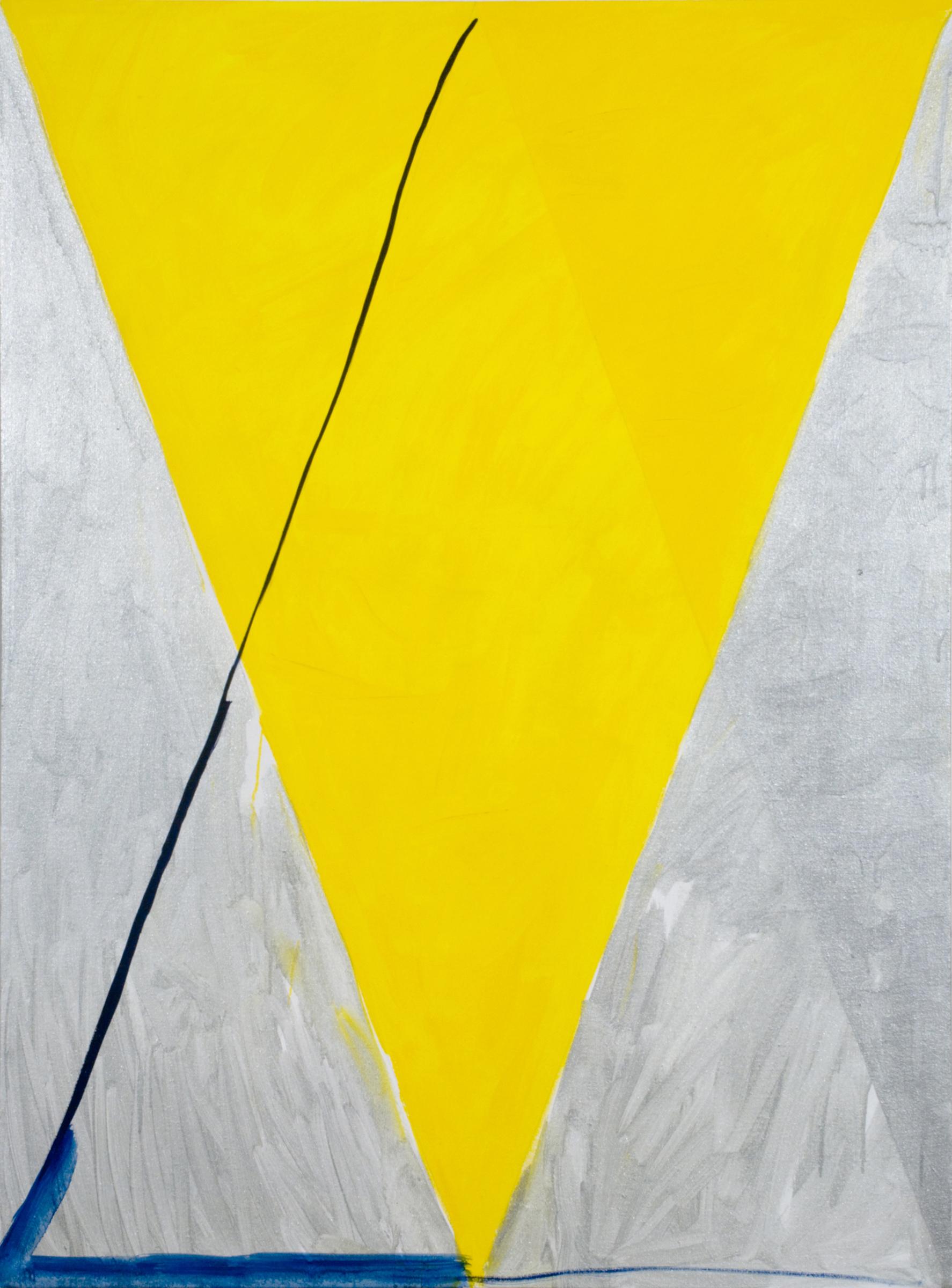 """PAMELA JORDEN   Vega, oil on linen, 54"""" x 40"""", 2010"""