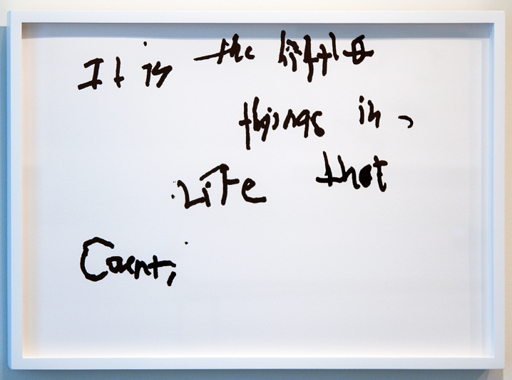 """SUSAN O'MALLEY   IT'S THE LITTLE THINGS , 2012, digital print on archival rag, edition of 1/1 with AP, 16"""" x 24"""""""