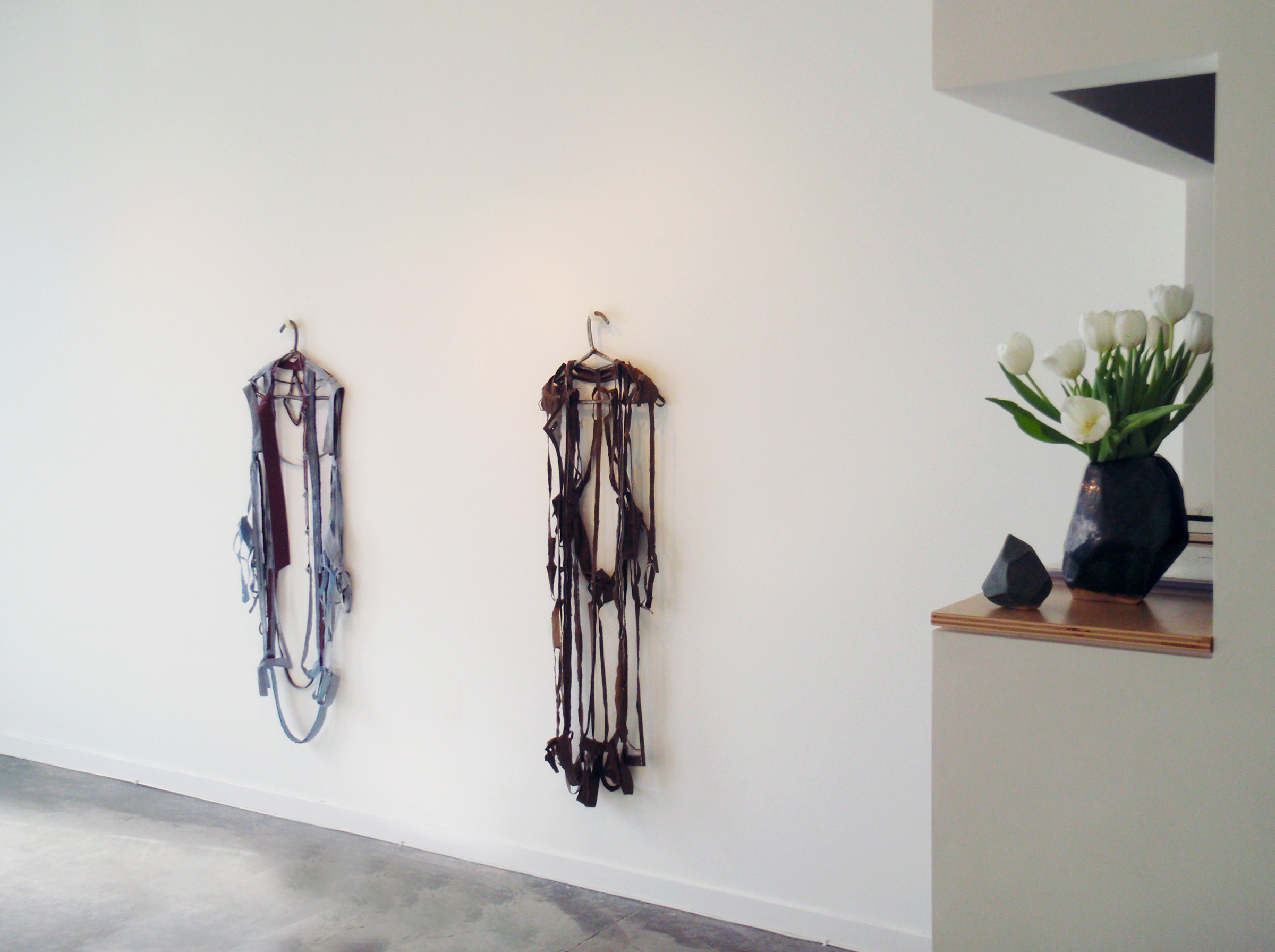 ANNA SEW HOY   Tissues and Trench Coats , installation
