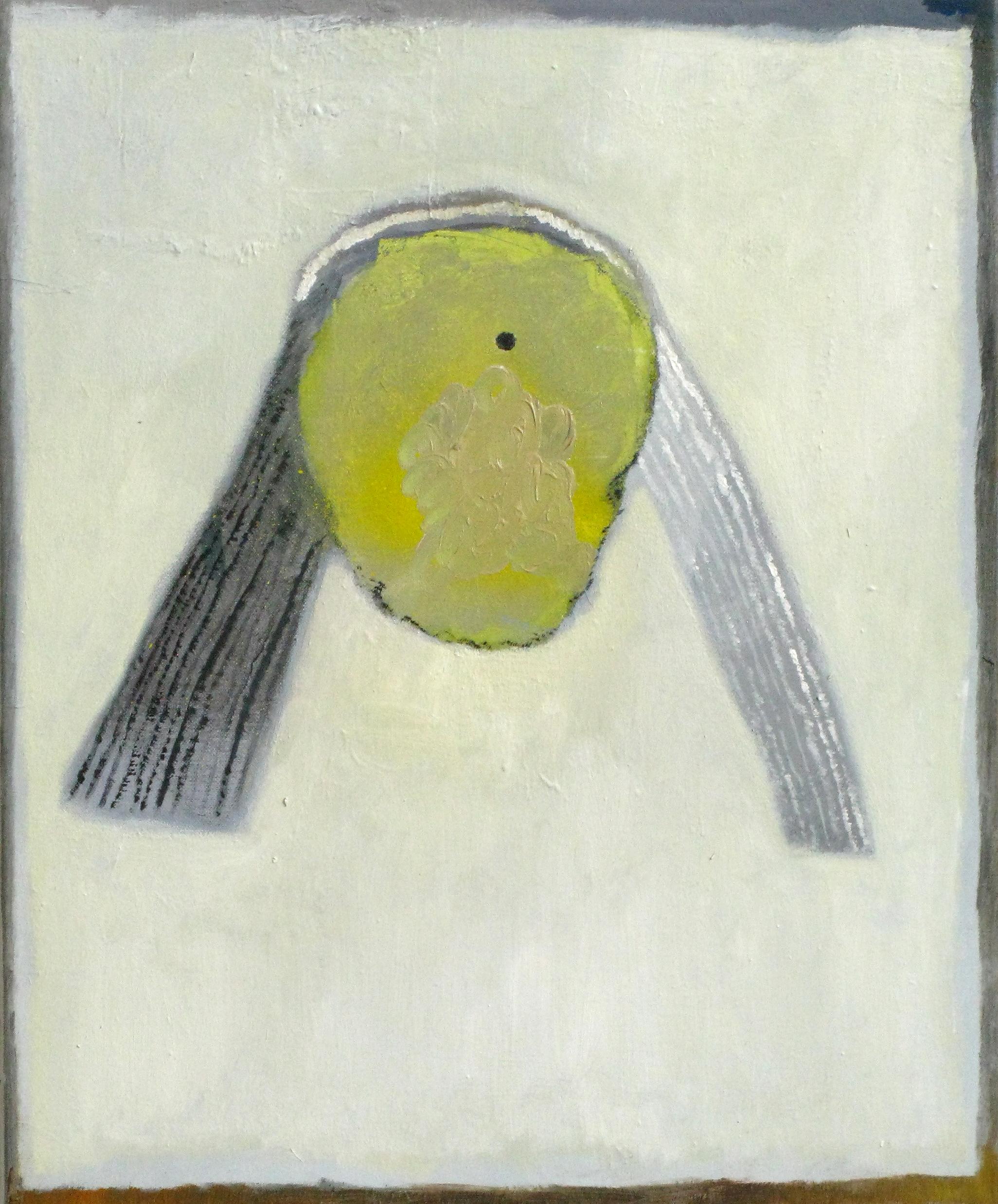 "CHRISTOPH ROßNER   Big Light, oil on canvas, 25.5"" x 19.5"", 2009"