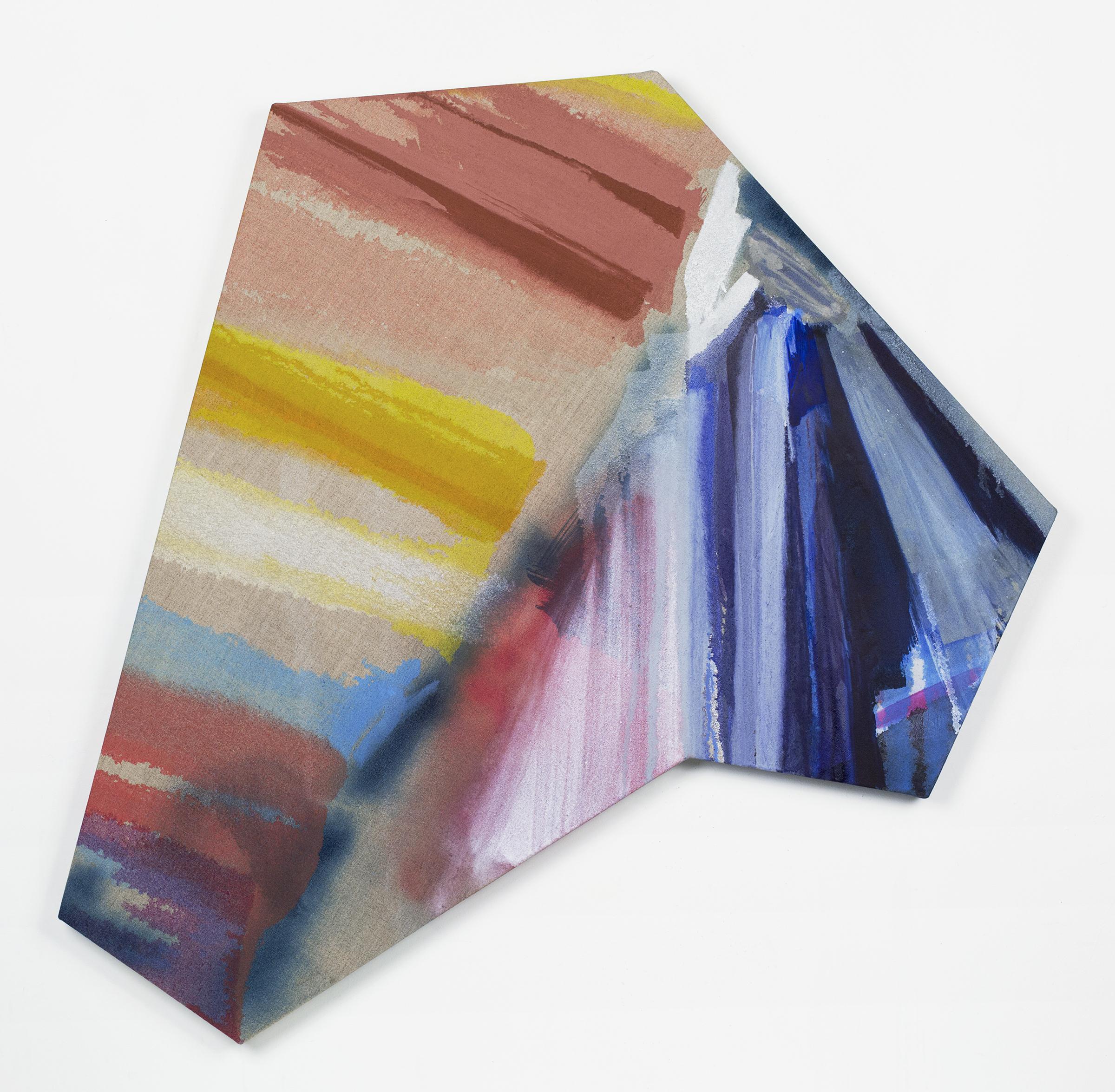 """PAMELA JORDEN   Ell , oil on linen 41 3/8"""" x 43 5/8"""", 2014"""
