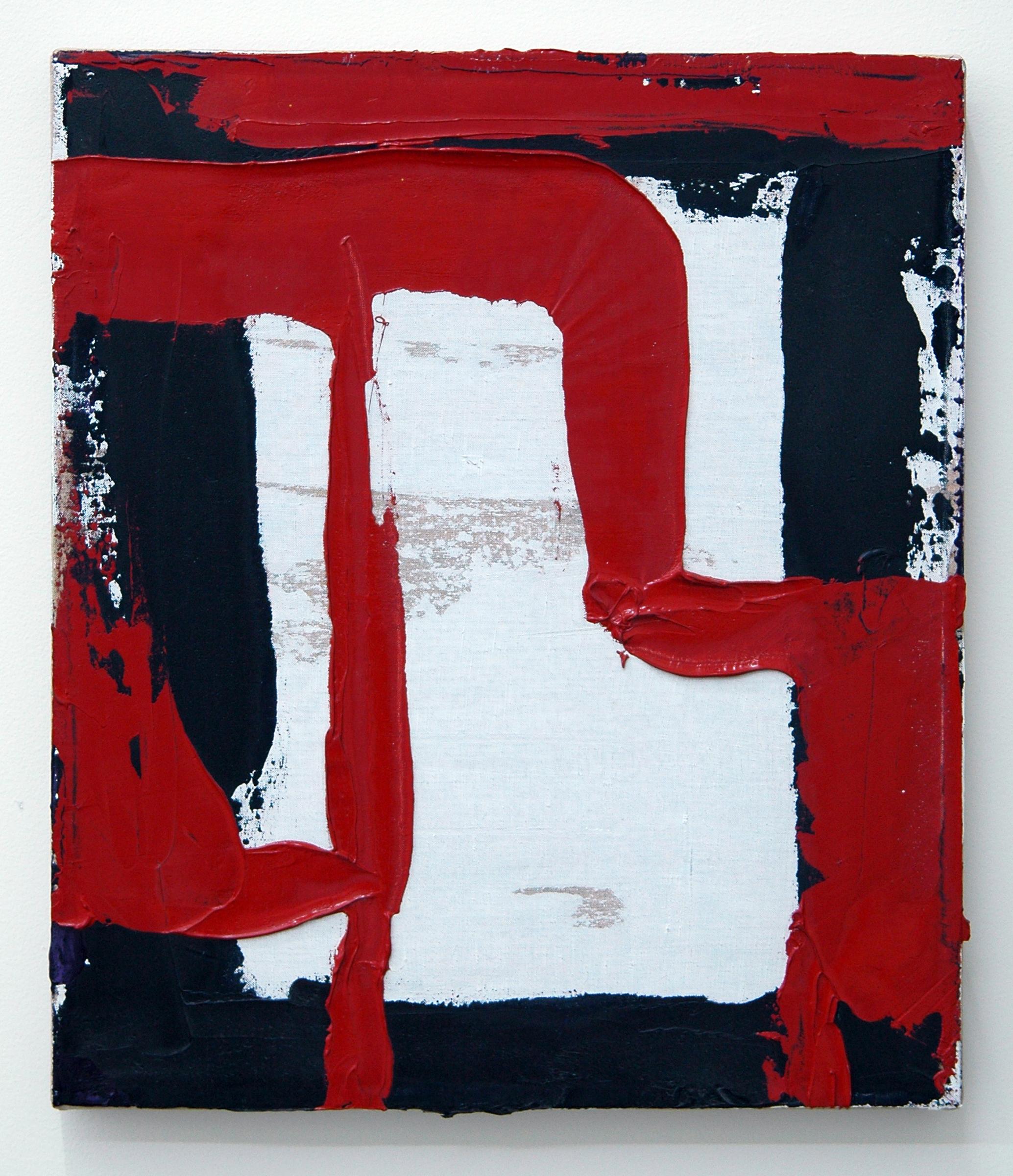 "/SLASH/  Peter Kirkeby, Untitled, oil and rabbit skin glue on linen, 13"" x 11"", 2013"