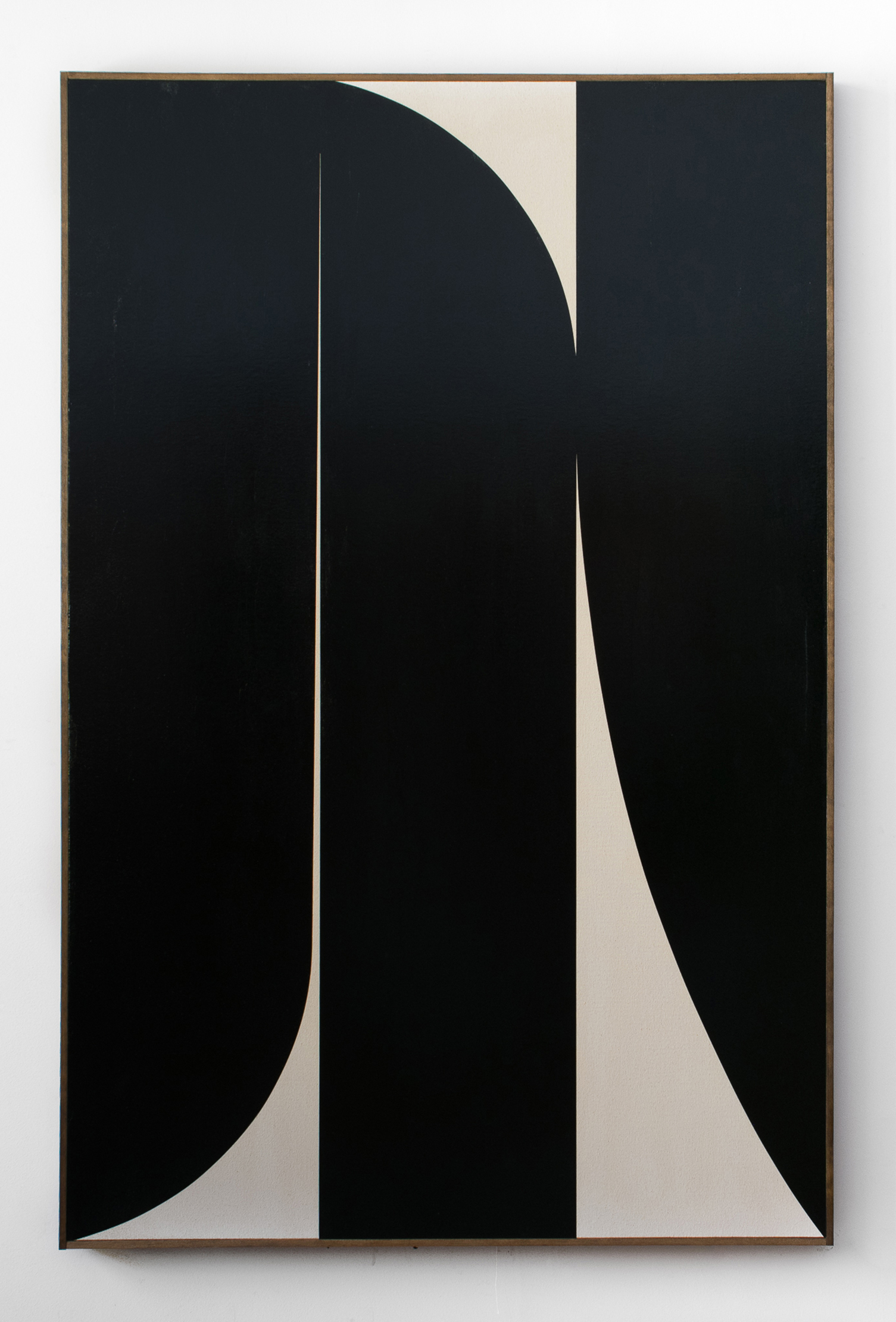 "JOHNNY ABRAHAMS Untitled (JA.03.18), 2018 Oil on canvas, 72"" x 48"""