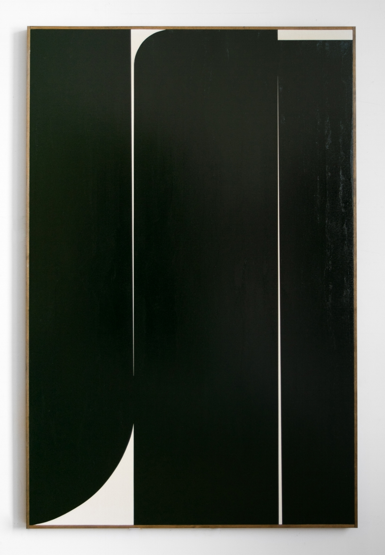 "JOHNNY ABRAHAMS Untitled (JA.01.18), 2018 Oil on canvas, 72"" x 48"""