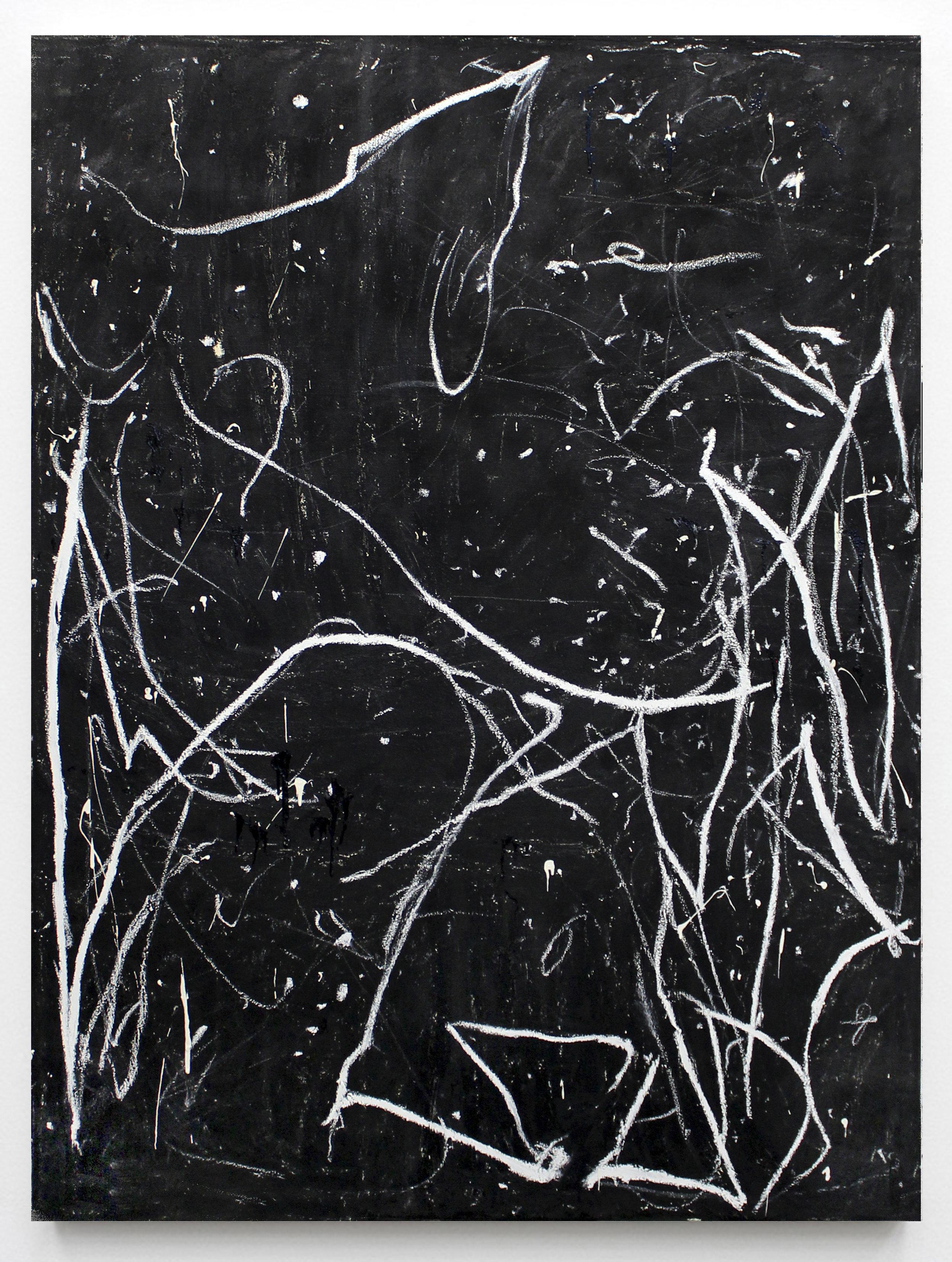 "JOSEPH HART Untitled (Dancer 2), 2018 Oil on canvas, 72"" x 52"""