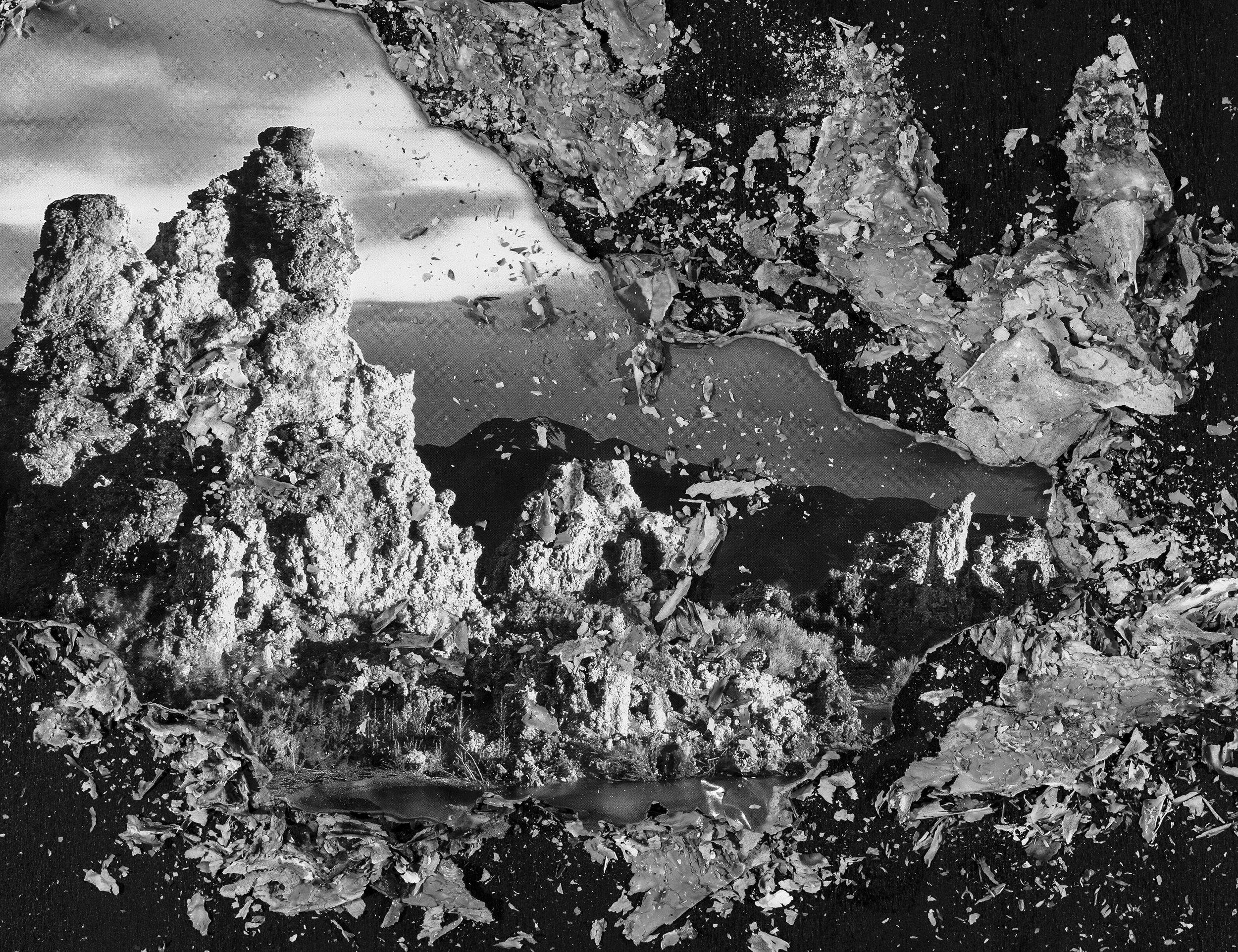 "BESSMA KHALAF  Burnout (Hoodoos) , 2019 Archival pigment print 20"" x 26"", Edition of 3 with 1AP"