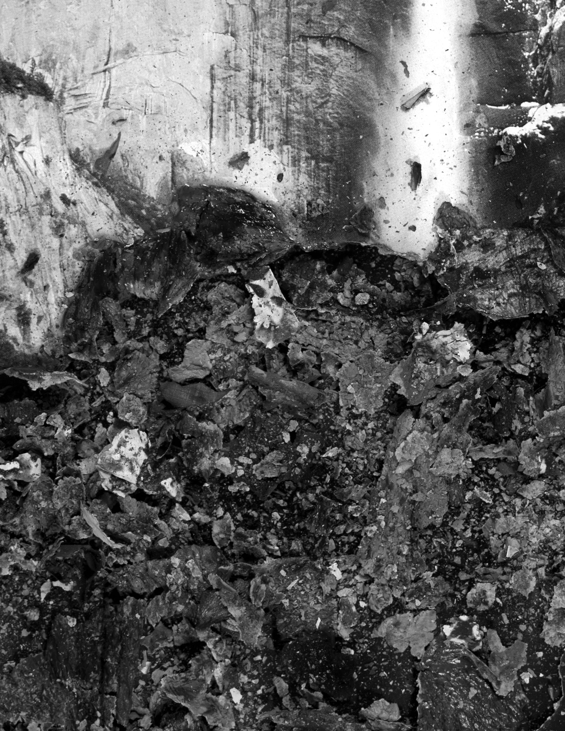 """BESSMA KHALAF (detail)  Burnout (Bridal Veil Falls) , 2019 Archival pigment print 14"""" x 10"""", Edition of 3 with 1AP"""