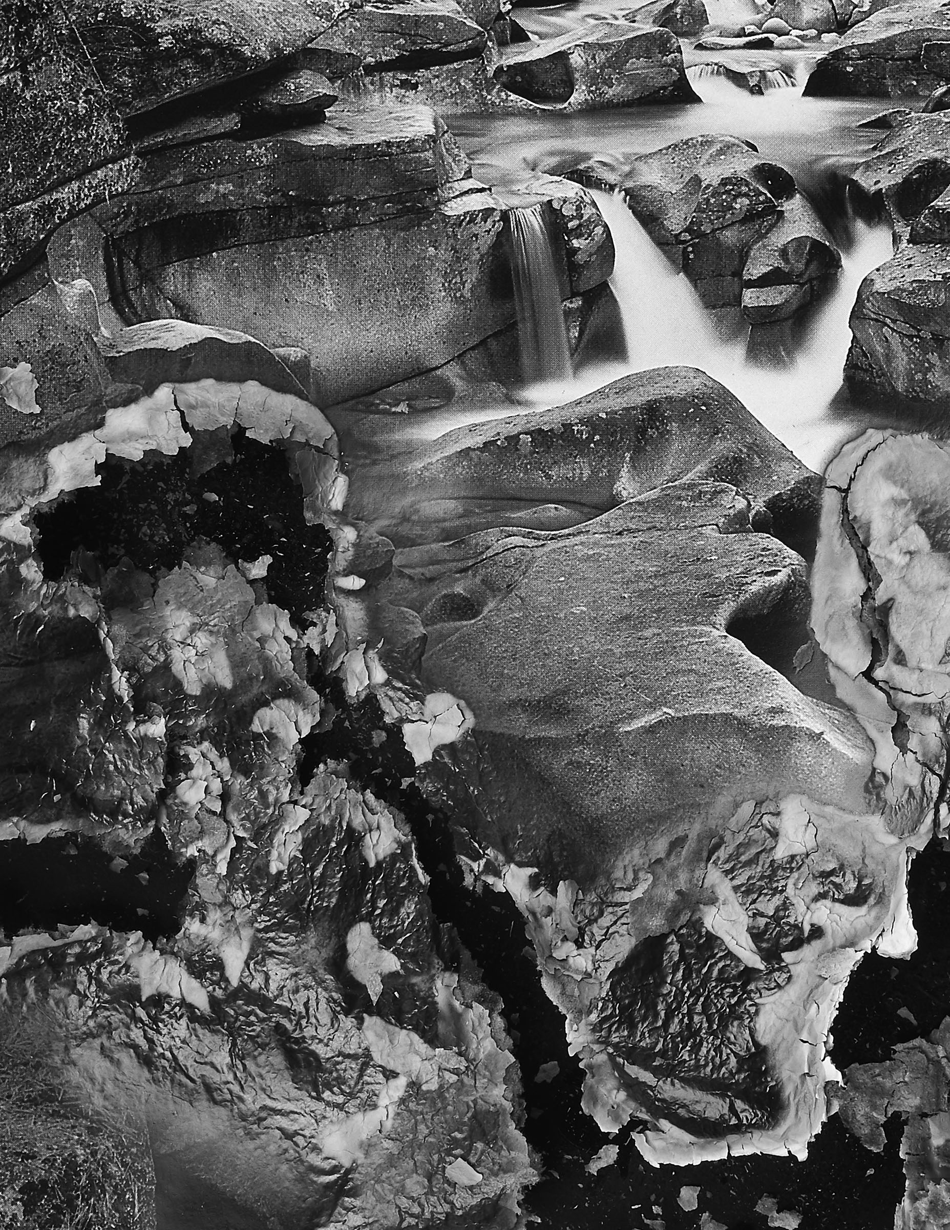"""BESSMA KHALAF (detail)  Burnout (Boulder Creek) , 2019 Archival pigment print 50"""" x 33"""", Edition of 3 with 1AP"""