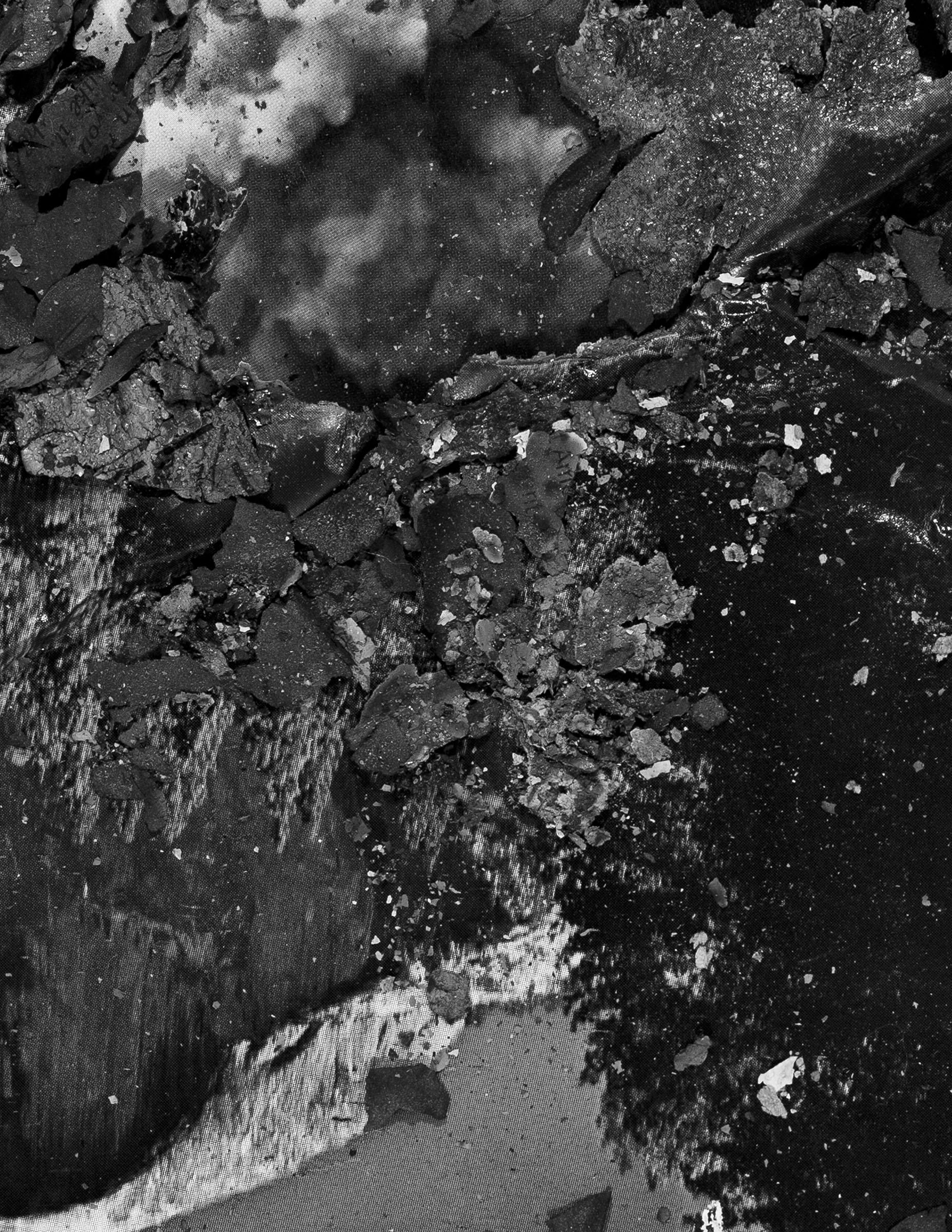 "BESSMA KHALAF (detail)  Burnout (Half Dome) , 2019 Archival pigment print 26"" x 20"", Edition of 3 with 1AP"