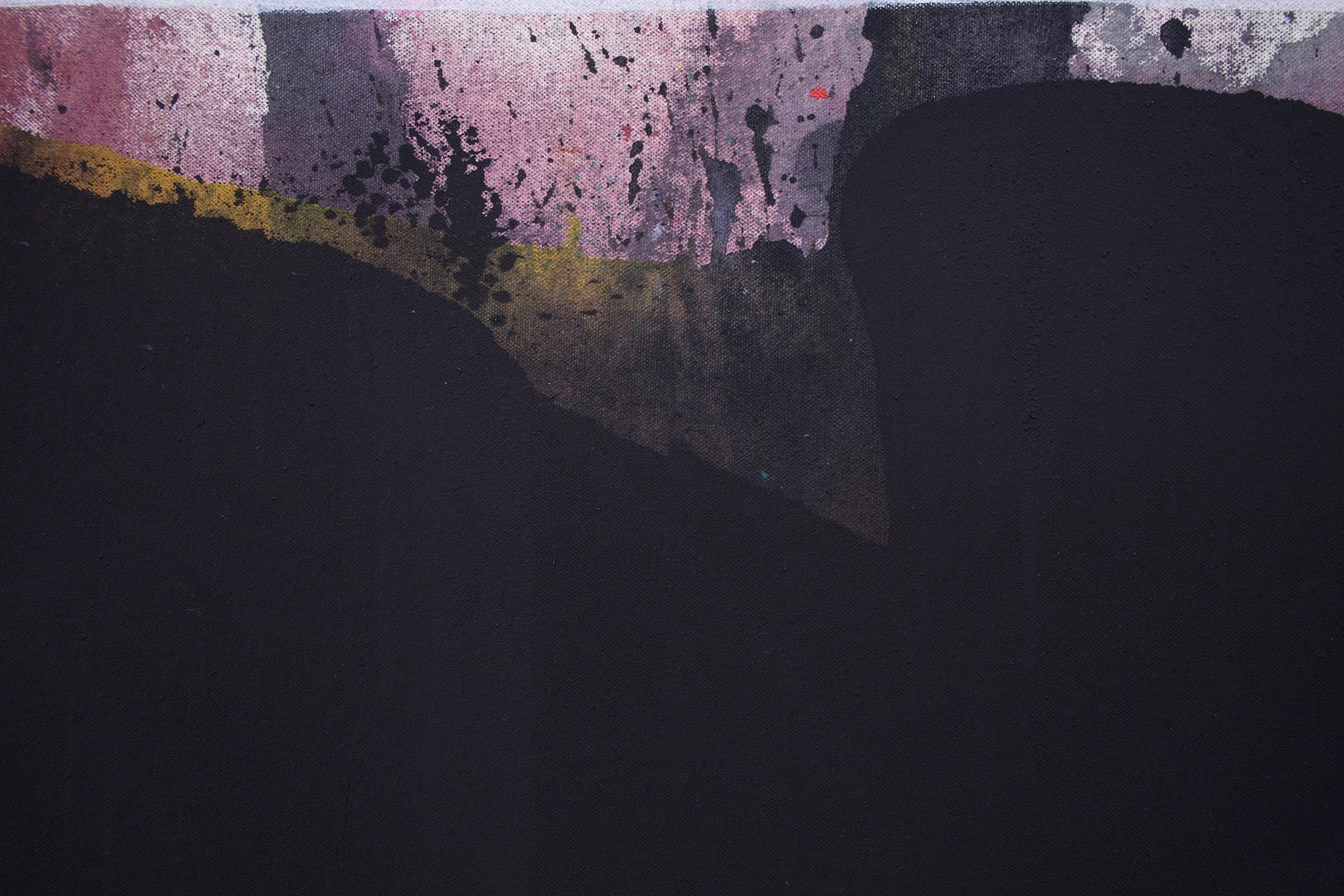 "JEAN-FRANÇOIS LAUDA (detail) Untitled (LAJ1016), 2018 acrylic on canvas, 76"" x 60"""