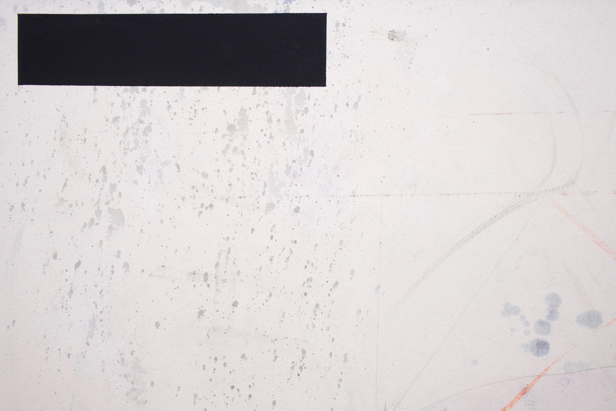 "JEAN-FRANÇOIS LAUDA (detail) Untitled (LAJ1017), 2018 acrylic on canvas, 76"" x 60"""