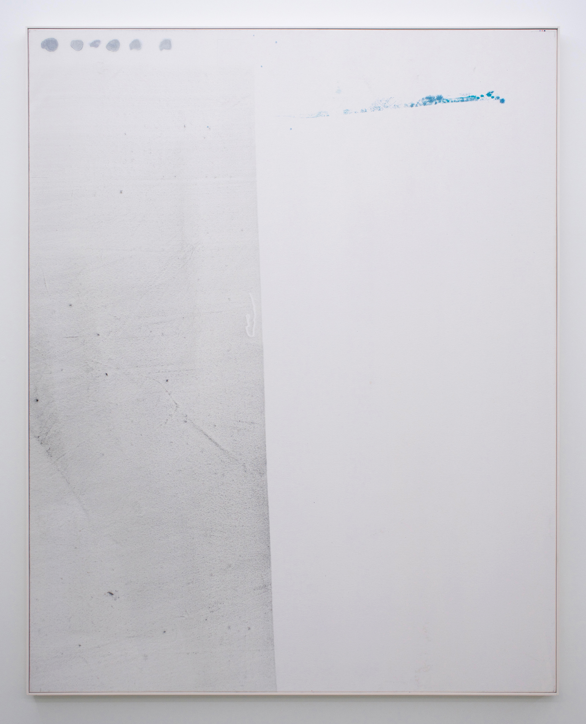 "JEAN-FRANÇOIS LAUDA Untitled (LAJ1015), 2018 acrylic on canvas, 76"" x 60"""